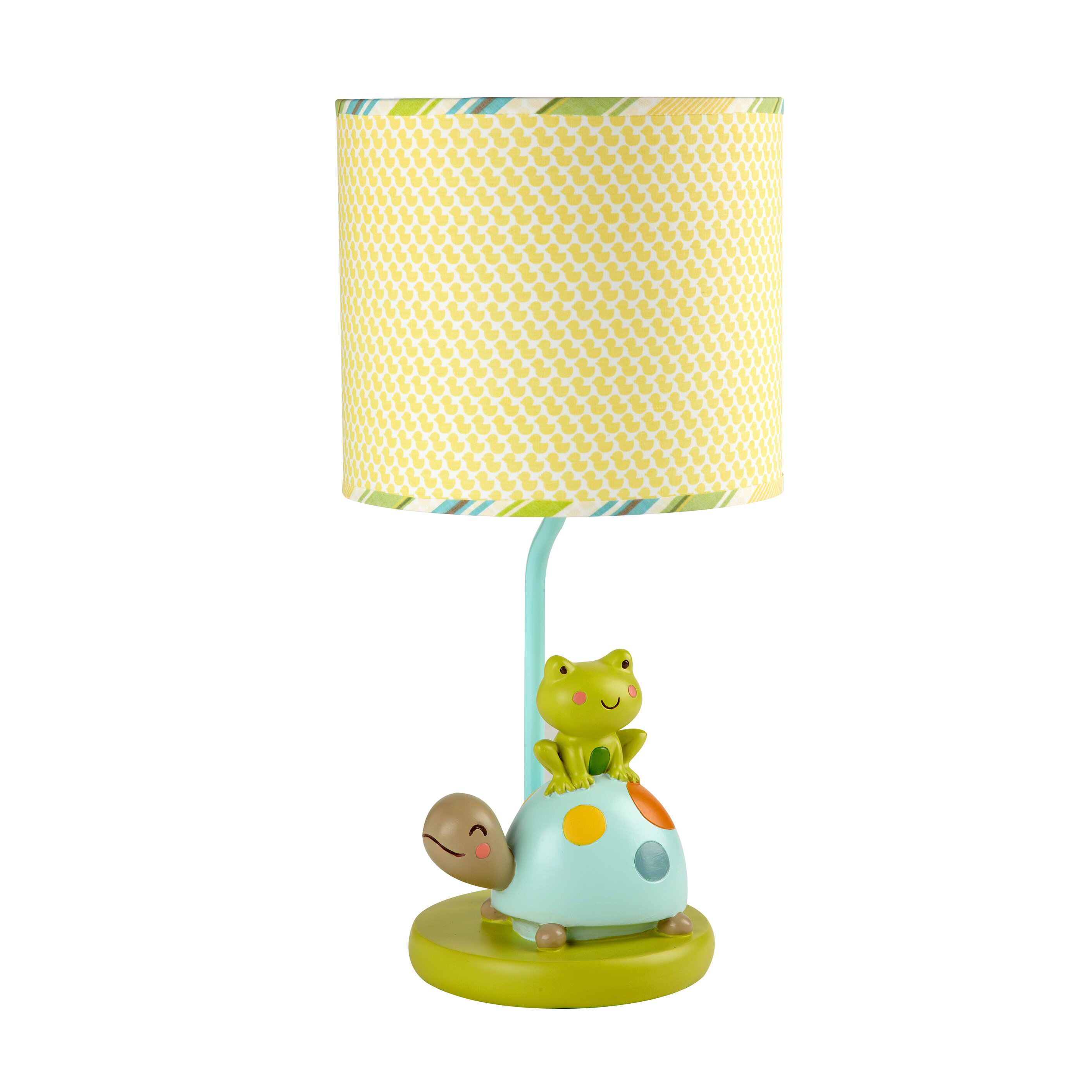 pond 18 h table lamp with drum shade wayfair. Black Bedroom Furniture Sets. Home Design Ideas