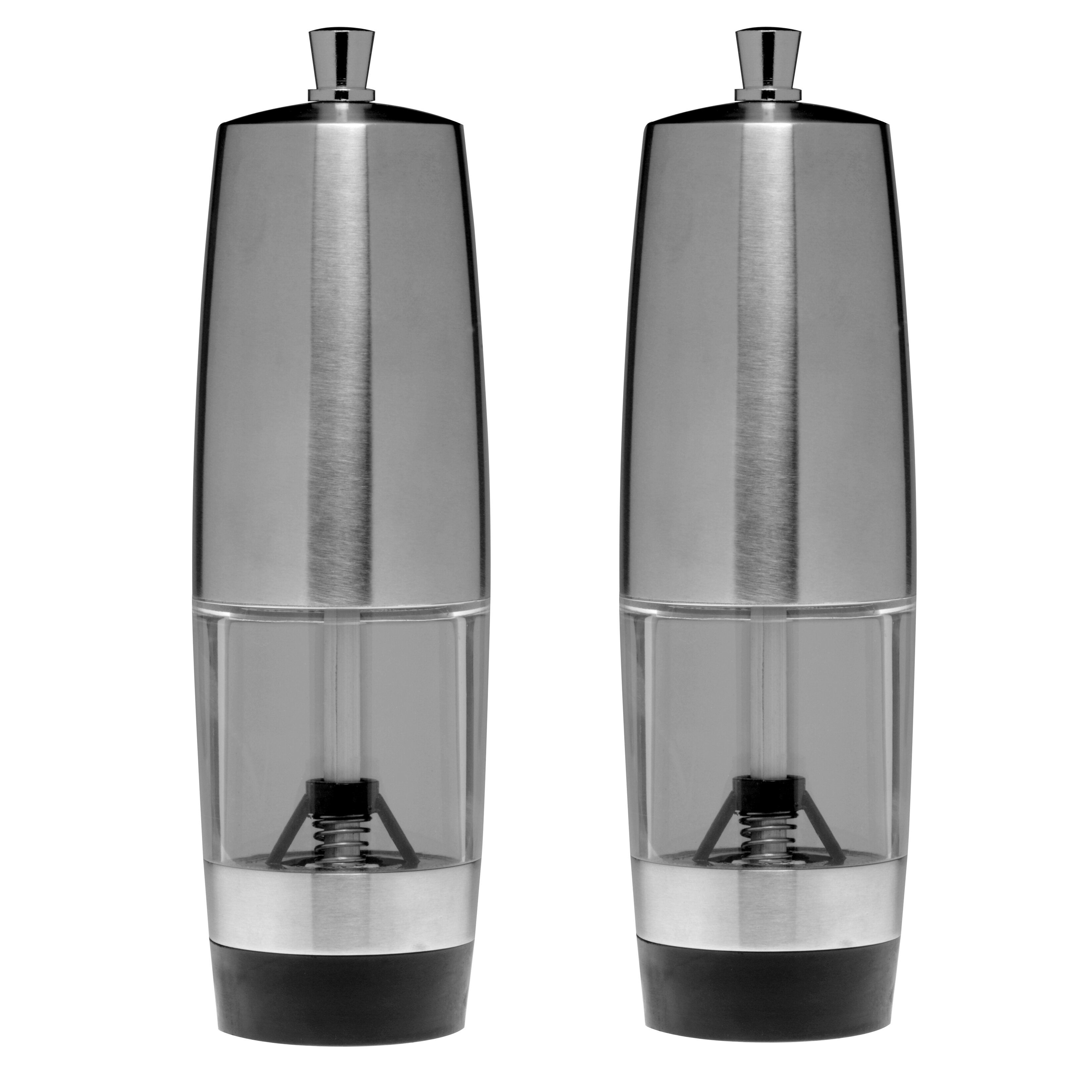 berghoff salt shaker and pepper mill set reviews wayfair. Black Bedroom Furniture Sets. Home Design Ideas