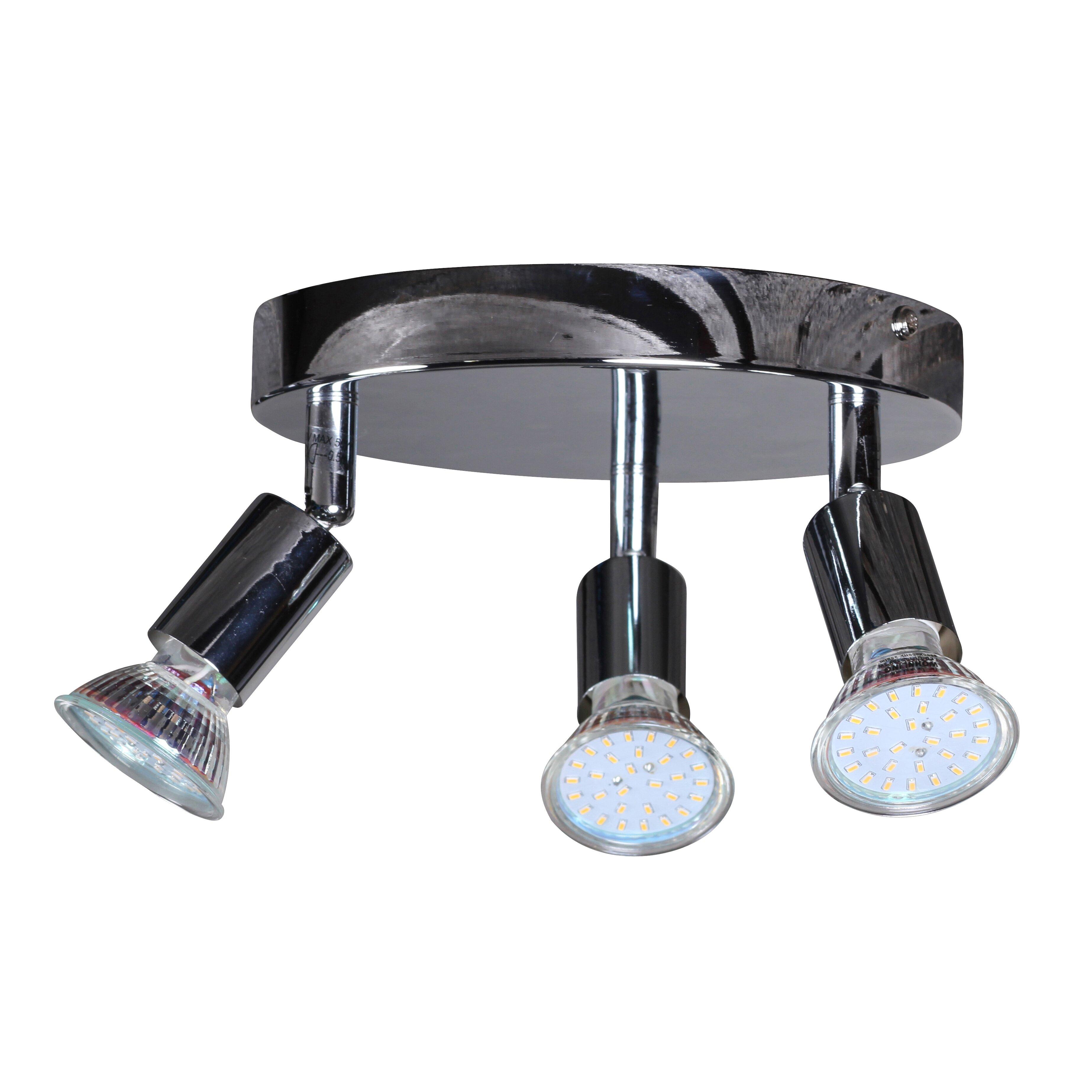 led deckenlampe 3 flammig rondell von bel tage. Black Bedroom Furniture Sets. Home Design Ideas