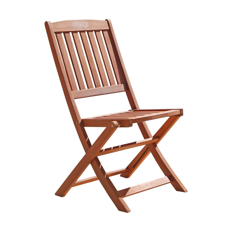 Folding Dining Chairs ~ Vifah folding dining side chair reviews wayfair