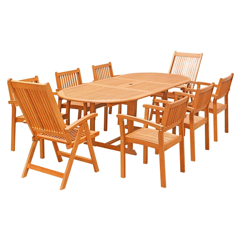 9 Piece Dining Set Wayfair