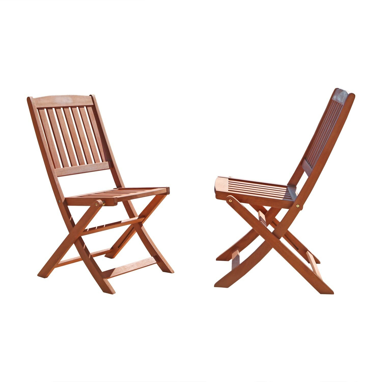 Vifah Folding Dining Side Chair Reviews Wayfair