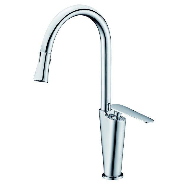single lever handle kitchen faucet wayfair
