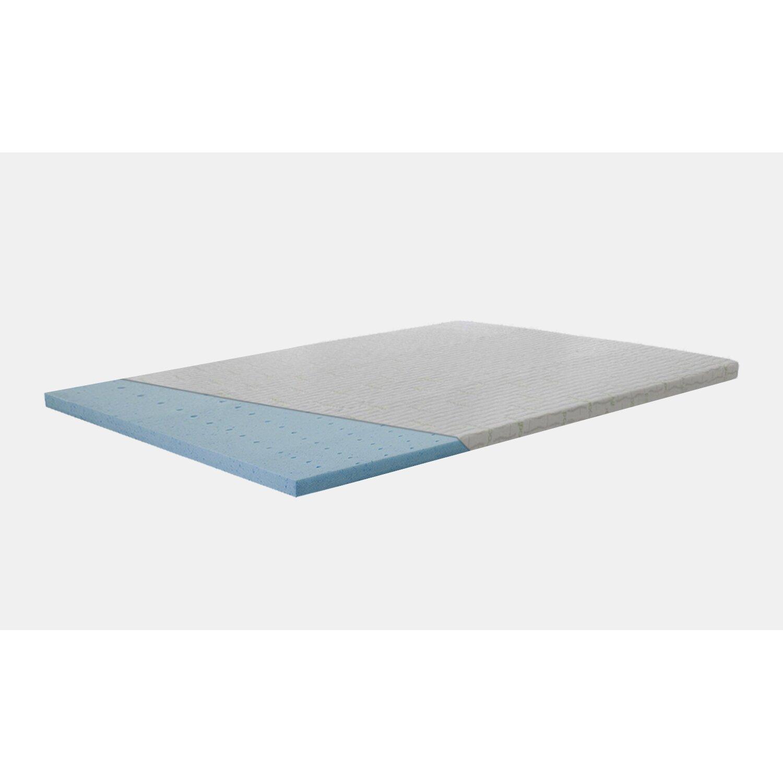 Spinal Solution Cool Gel Memory Foam Mattress Topper