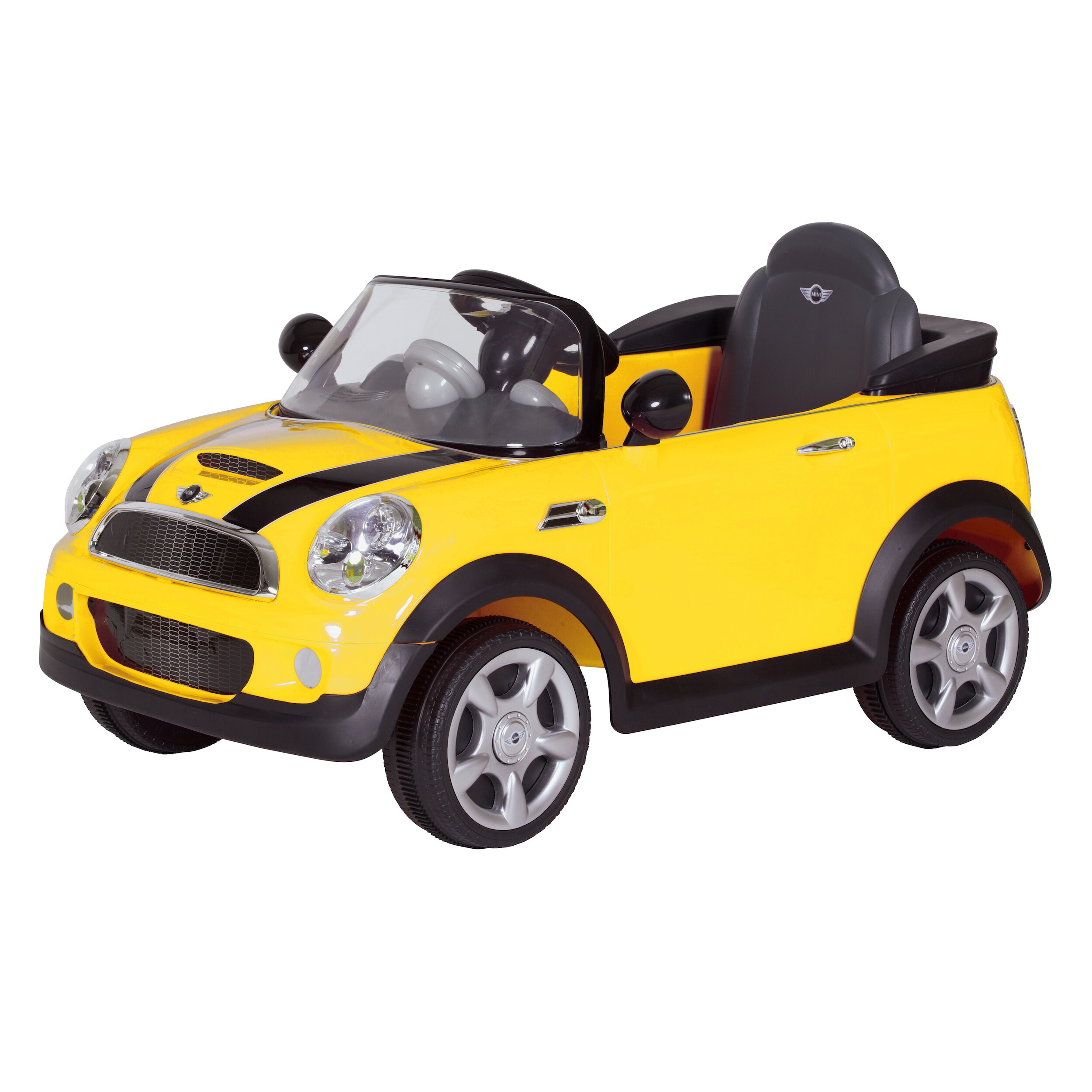 rollplay mini cooper 6v battery powered car reviews wayfair. Black Bedroom Furniture Sets. Home Design Ideas
