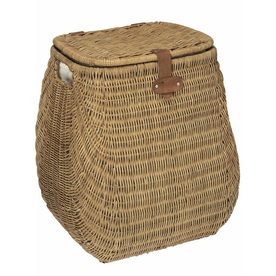 Kouboo Bulging Wicker Laundry Hamper & Reviews  Wayfair