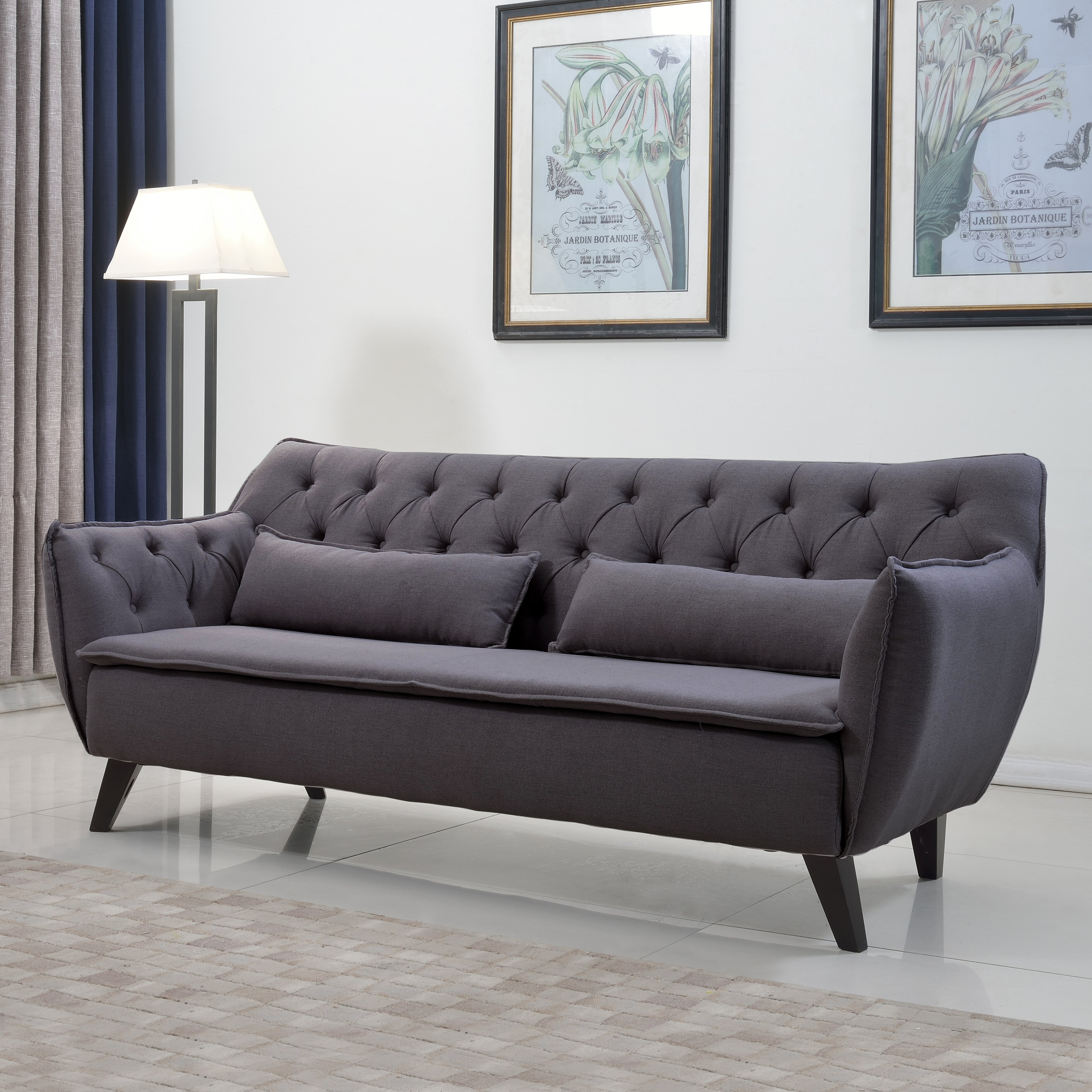 Madison Home Usa Mid Century Modern Sofa Amp Reviews Wayfair
