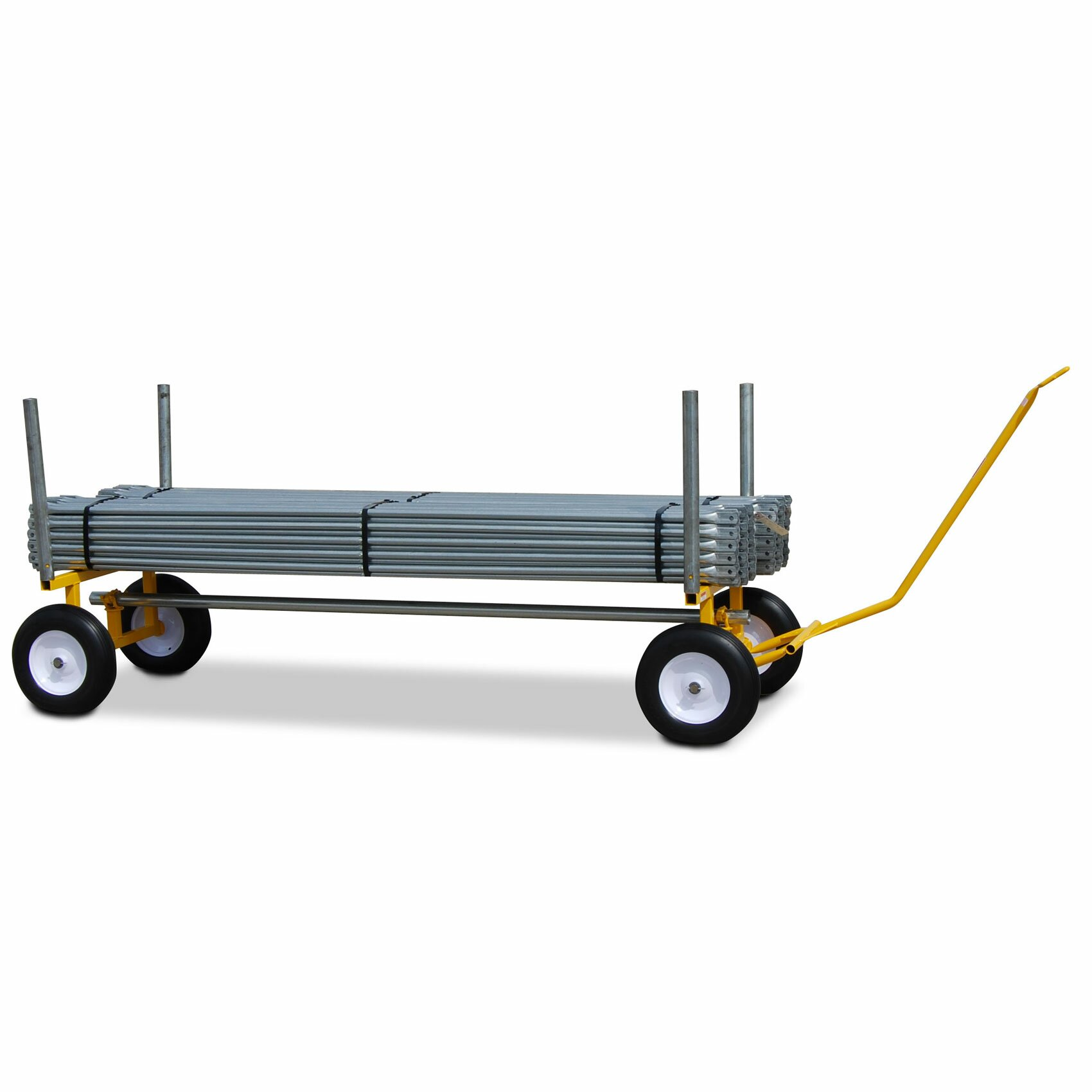 30 Quot X 96 Quot X 24 Quot Heavy Duty Lumber And Pipe Cart With 6 All