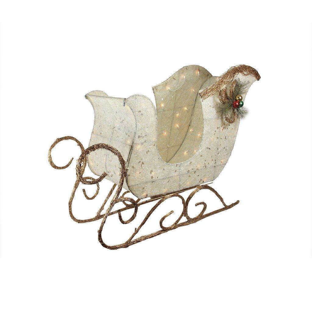 northlight christmas sleigh decoration reviews wayfair. Black Bedroom Furniture Sets. Home Design Ideas