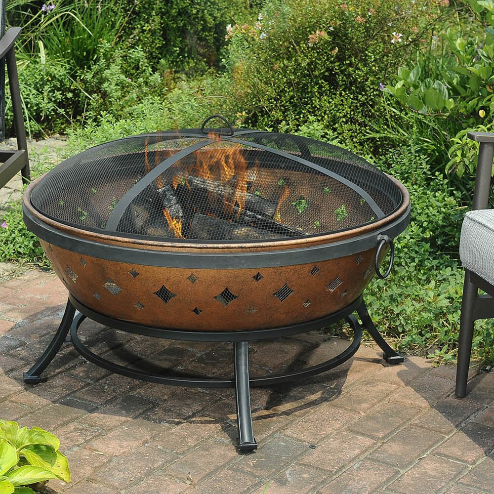 Darby Home Co Wentworth Steel Fire Pit & Reviews | Wayfair