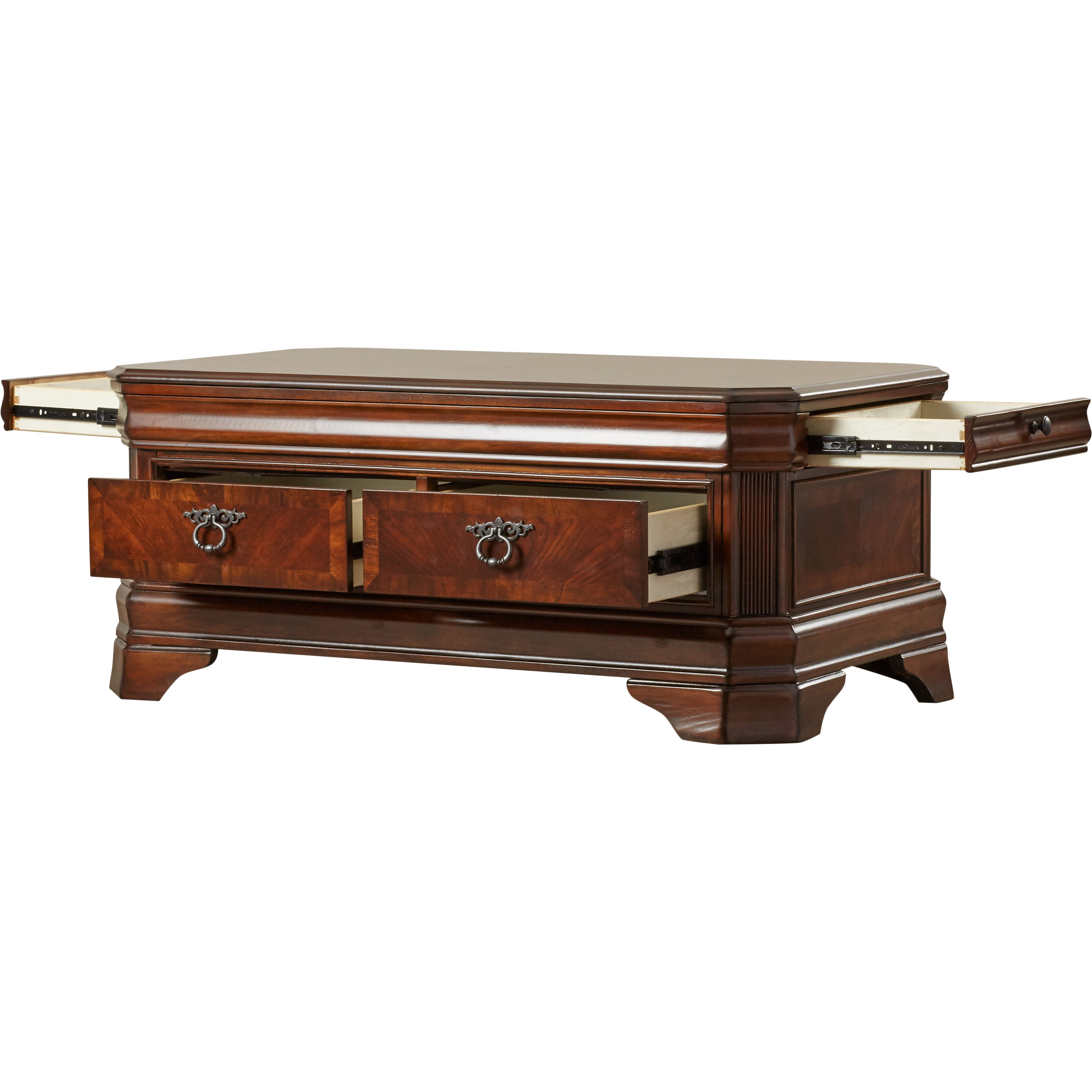Darby Home Co Trunk Coffee Table With Lift Top Reviews Wayfair