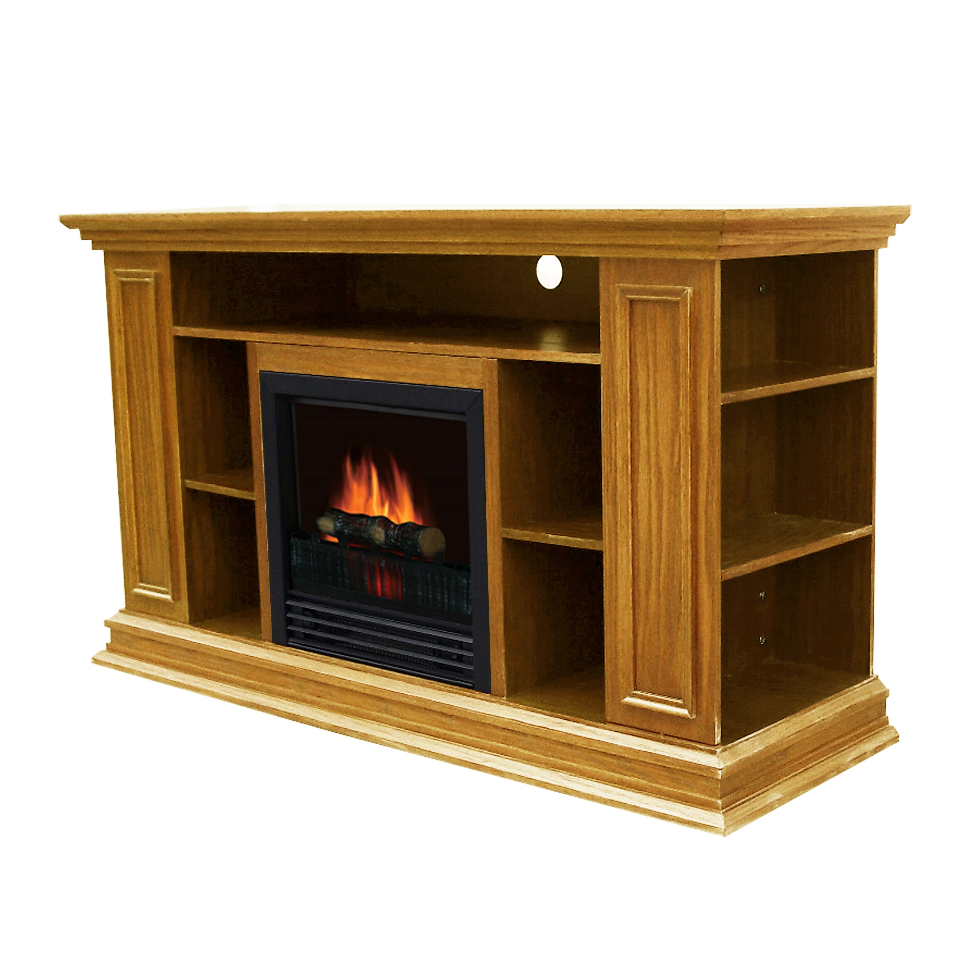 darby home co portland tv stand with electric fireplace reviews wayfair. Black Bedroom Furniture Sets. Home Design Ideas