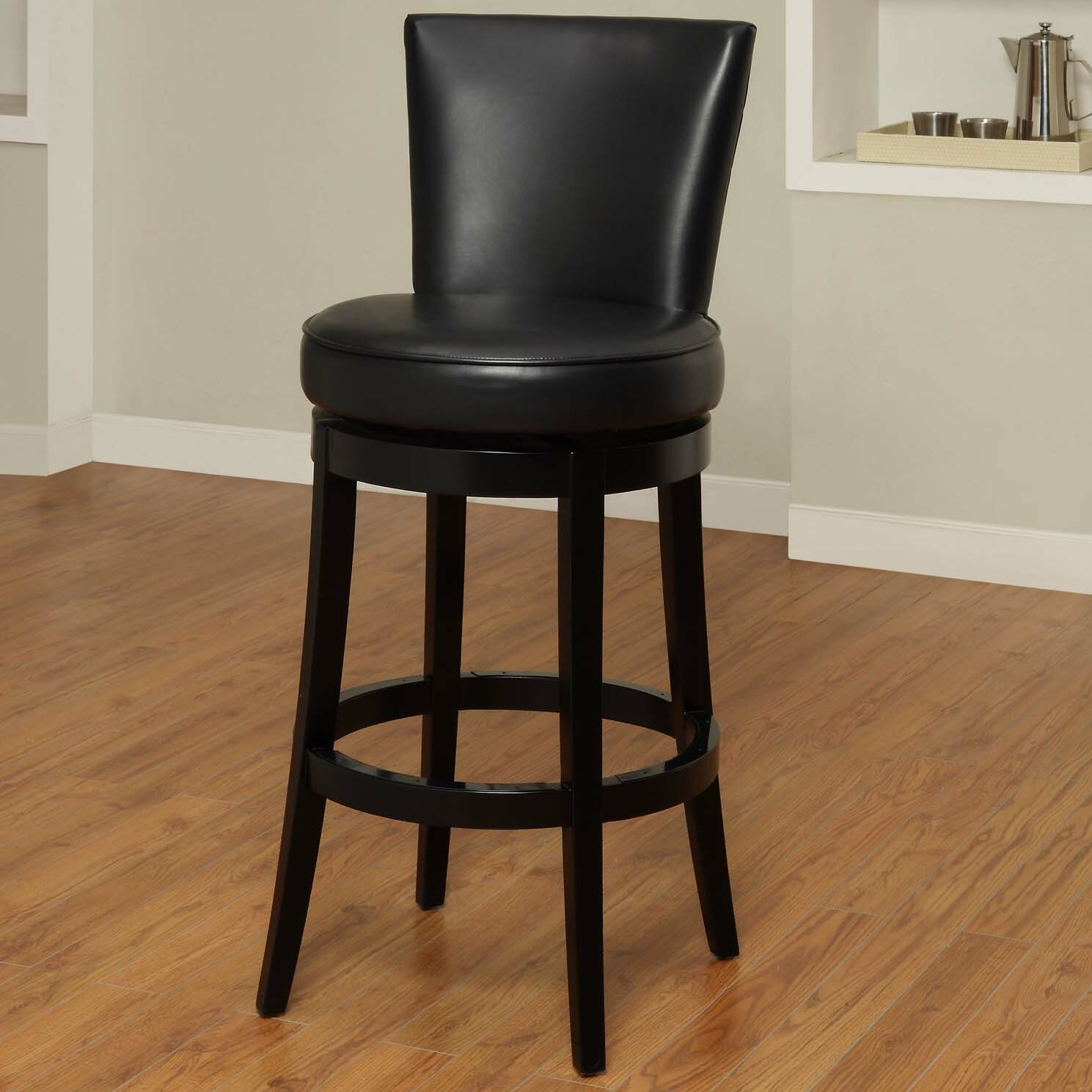 Darby Home Co Thornhill 26 Quot Swivel Bar Stool With Cushion