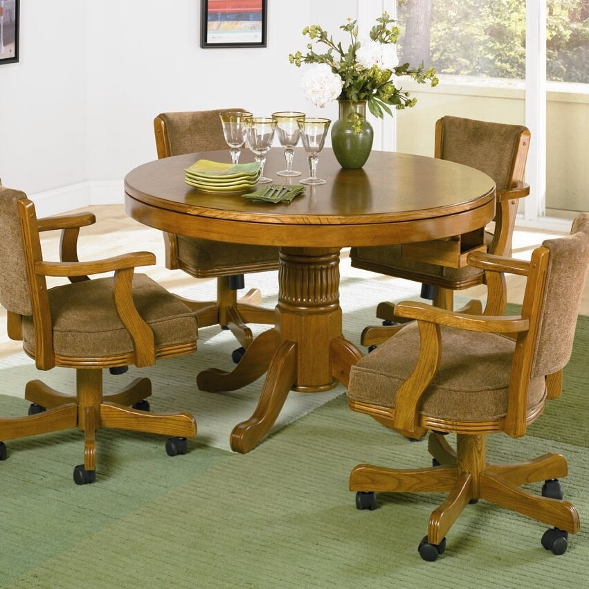Alcott Hill Alvin Convertible Poker And Dining Table Reviews