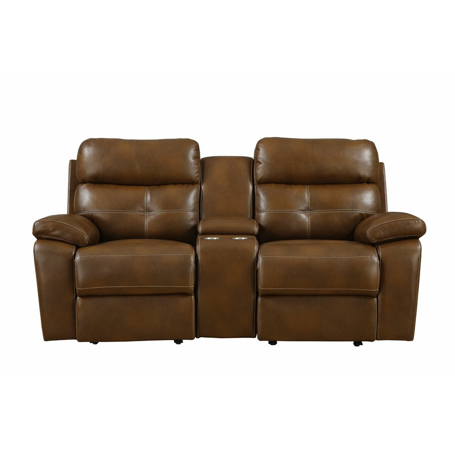 Power Motion Console Reclining Loveseat Wayfair
