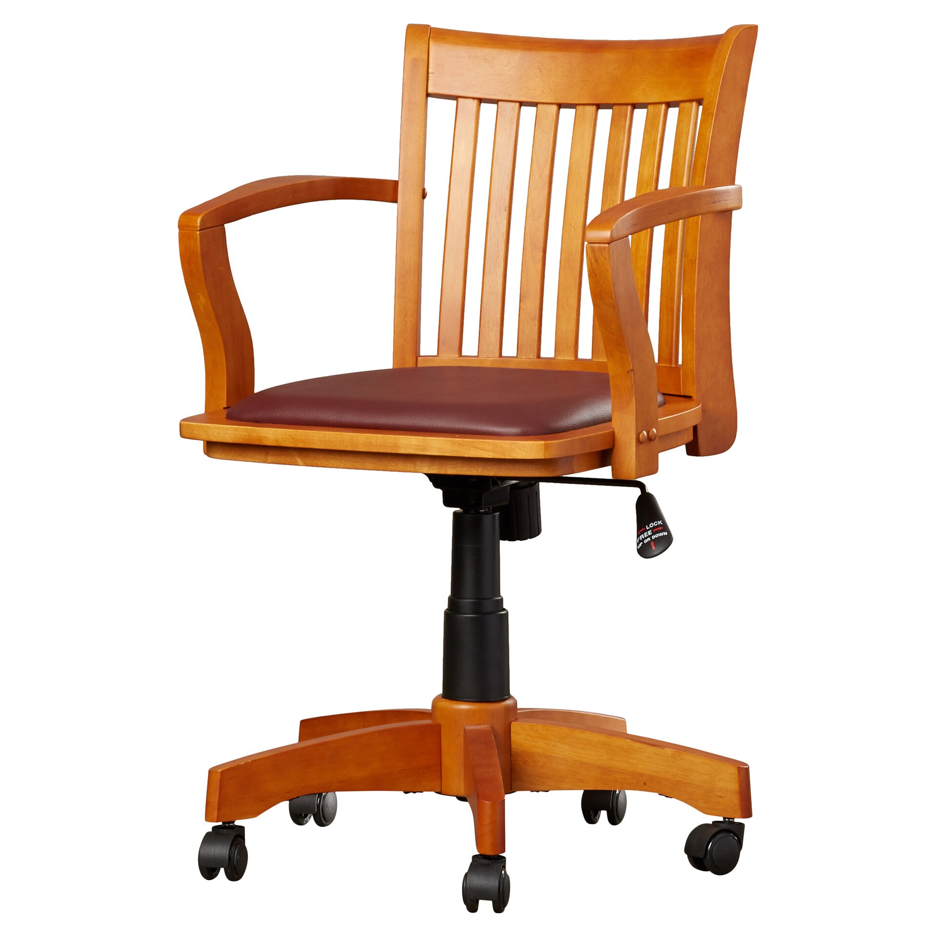 1920x1920 Alcott Hill Murrin Mid Back Bankers Chair U0026 Reviews Wayfair Pic  #B44E0A Recommended Bankers