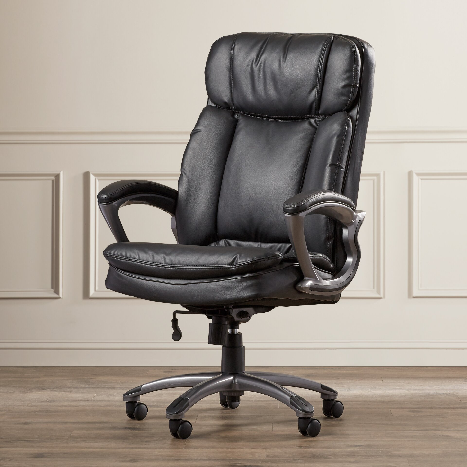 serta at home big and tall executive chair reviews wayfair