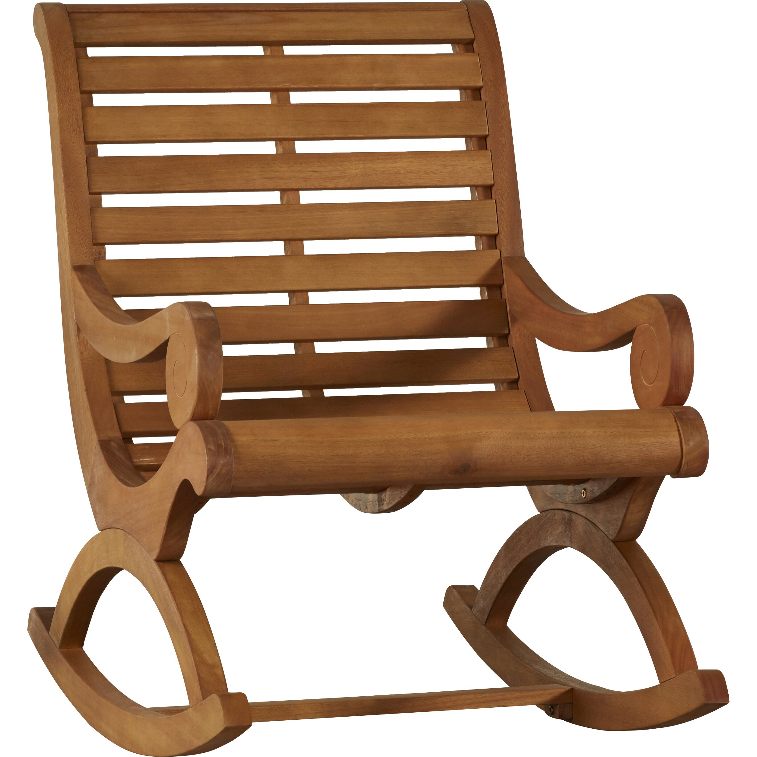 Outdoor Patio Furniture ... Patio Rocking Chairs Alcott Hill SKU ...