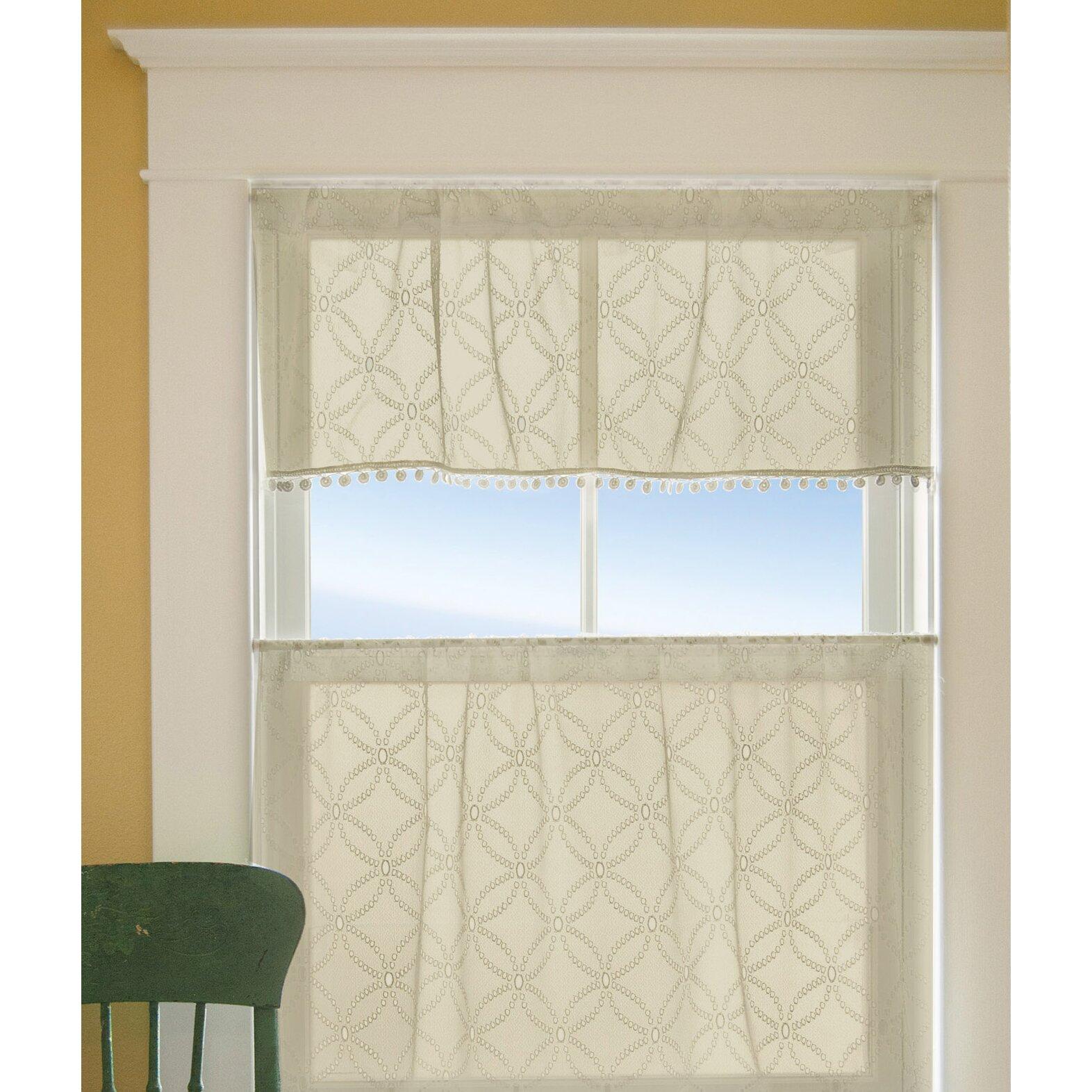 Alcott Hill Massasoit Kitchen Curtains Reviews Wayfair