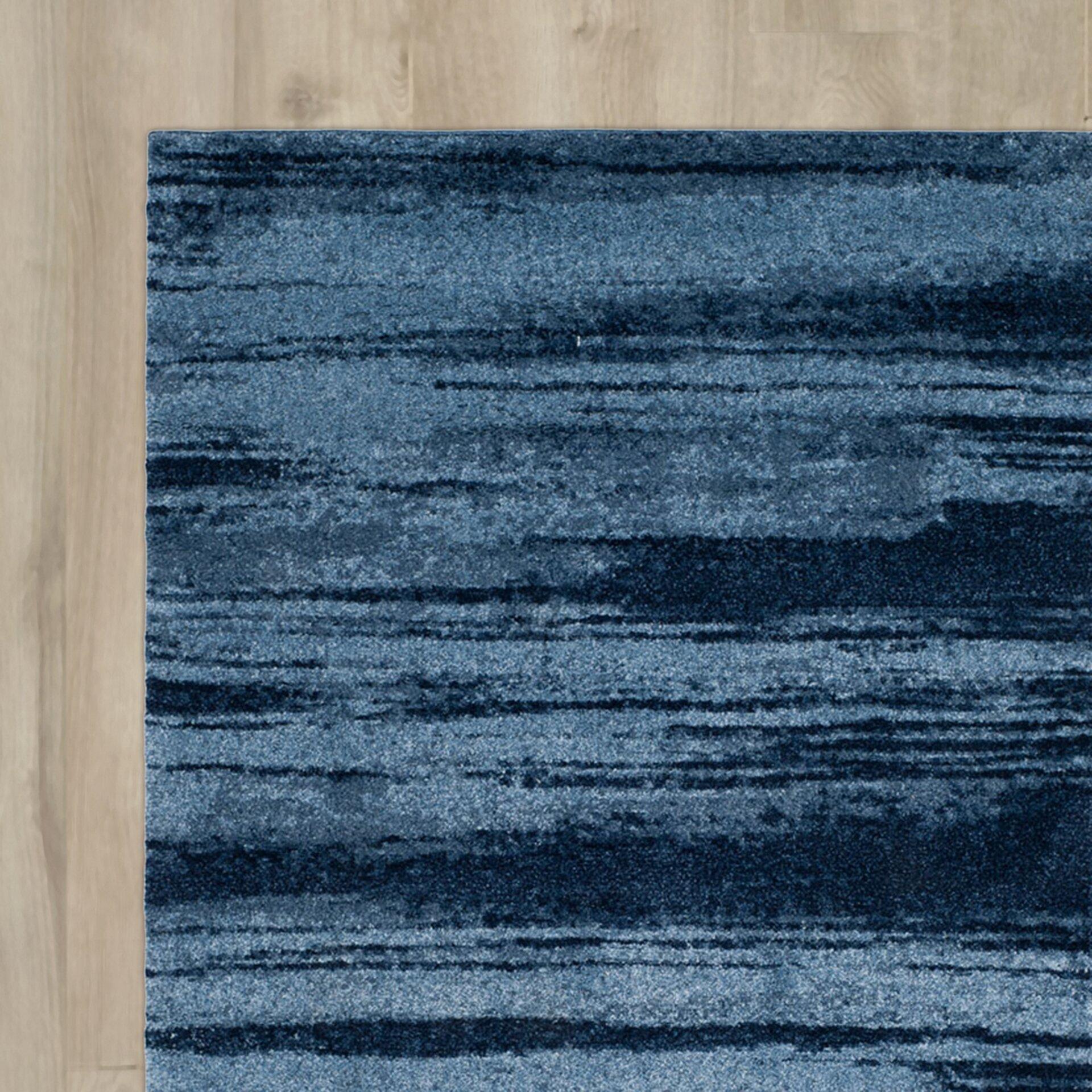 varick gallery tenth avenue light blue area rug reviews. Black Bedroom Furniture Sets. Home Design Ideas