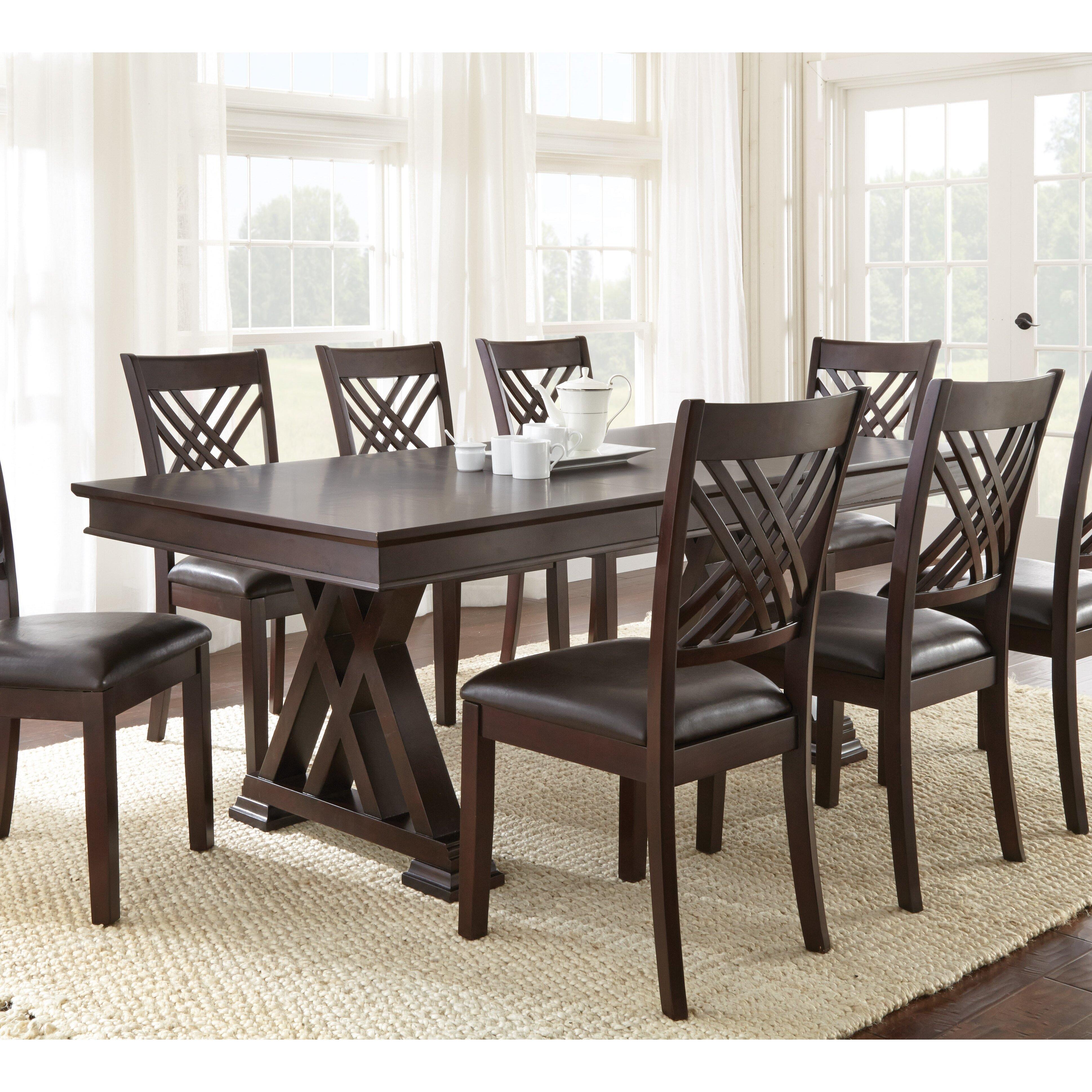 9 piece dining room sets | Adrian 9 Piece Dining Set | Wayfair