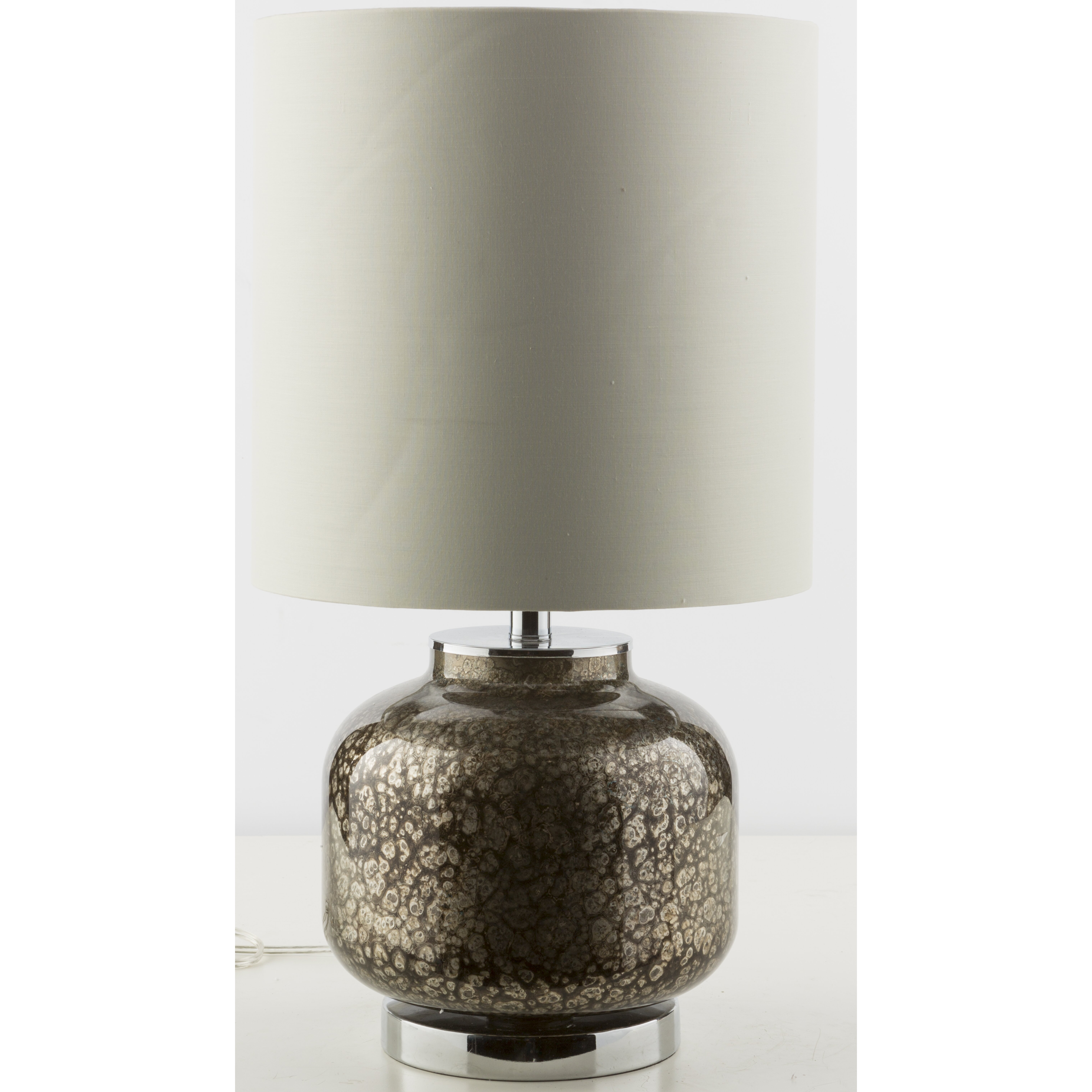 24 h table lamp with drum shade wayfair. Black Bedroom Furniture Sets. Home Design Ideas