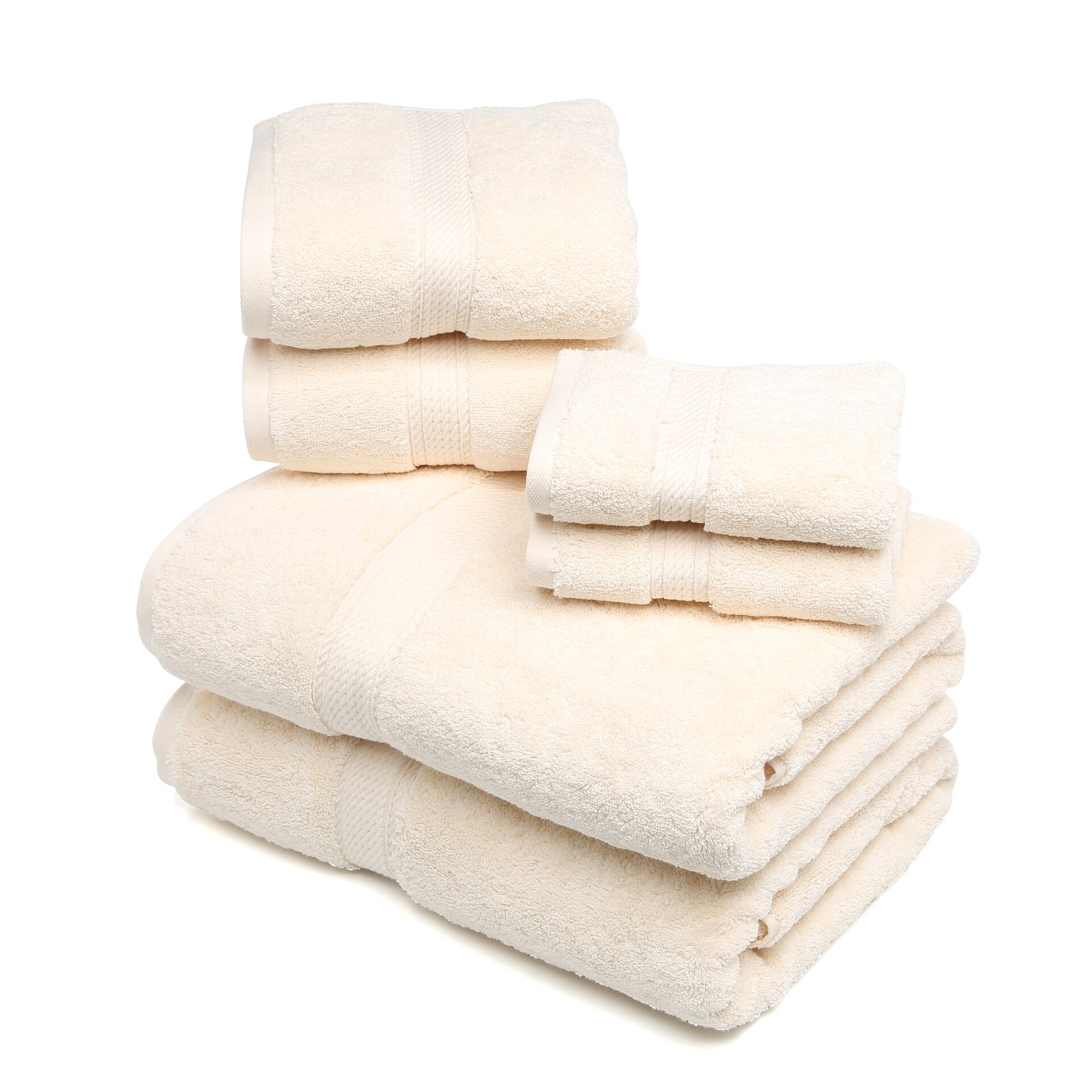 Wayfair Com Sales: Brayden Studio Styliani 900 GSM 6 Piece Towel Set