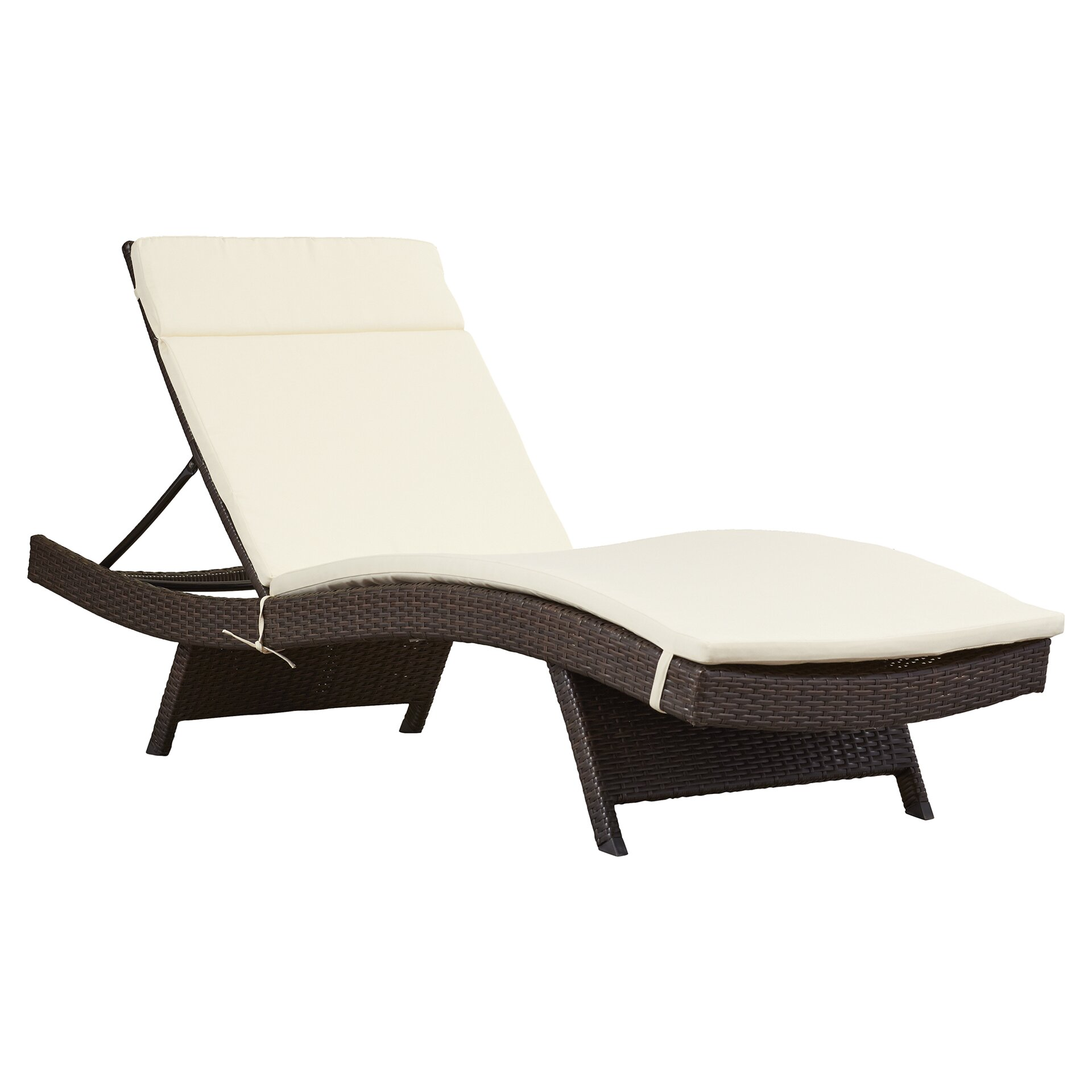 Brayden studio garry wicker adjustable chaise lounge with for Baby chaise lounge