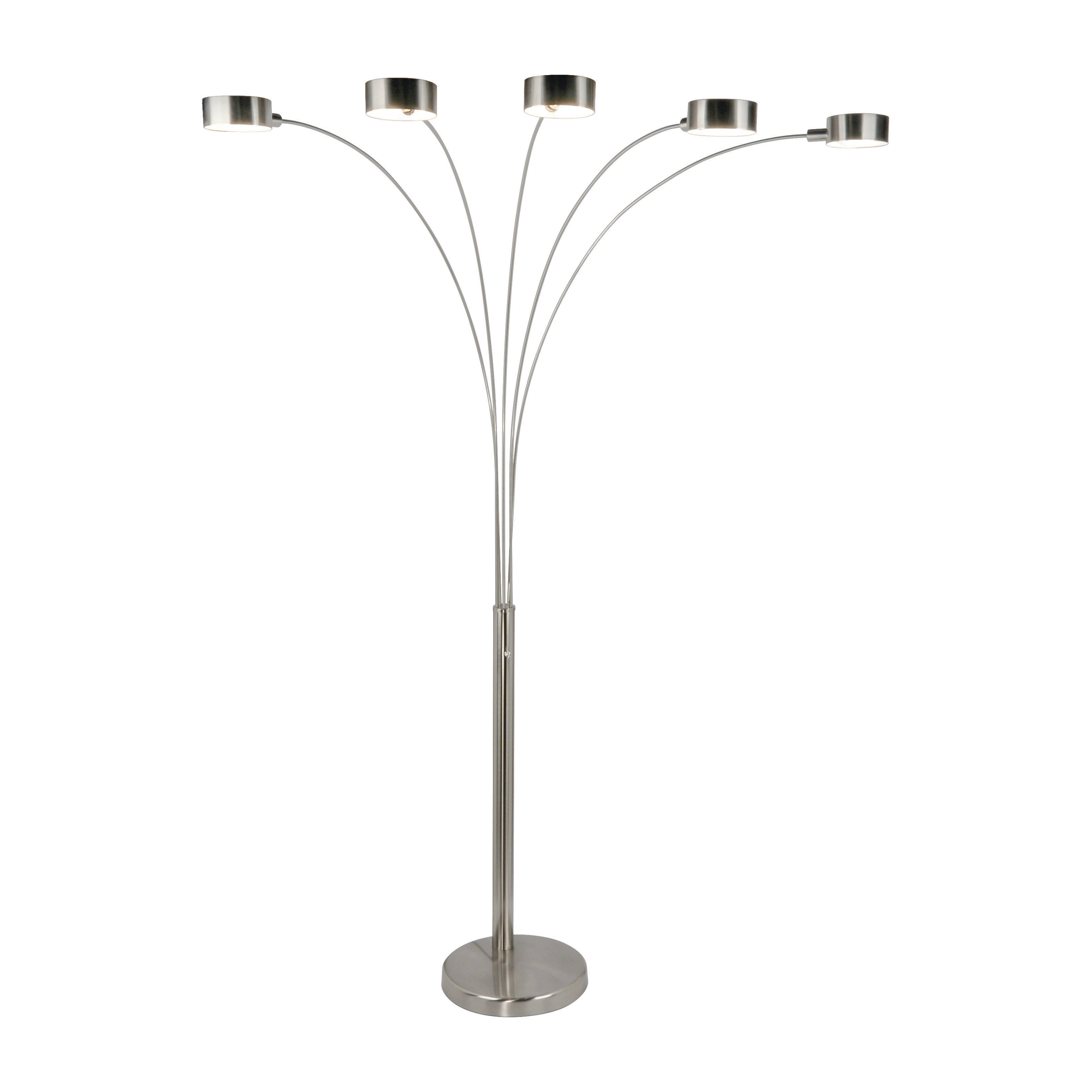 Brayden studio dabney 88quot arch floor lamp with dimmer for Micah 88 arch floor lamp with dimmer function