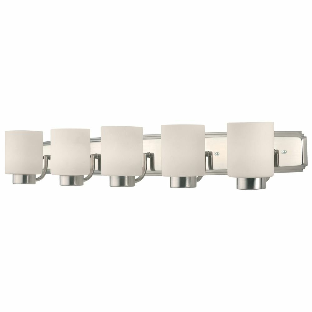 Brayden Studio Blagdon 5 Light Bath Vanity Light Reviews Wayfair
