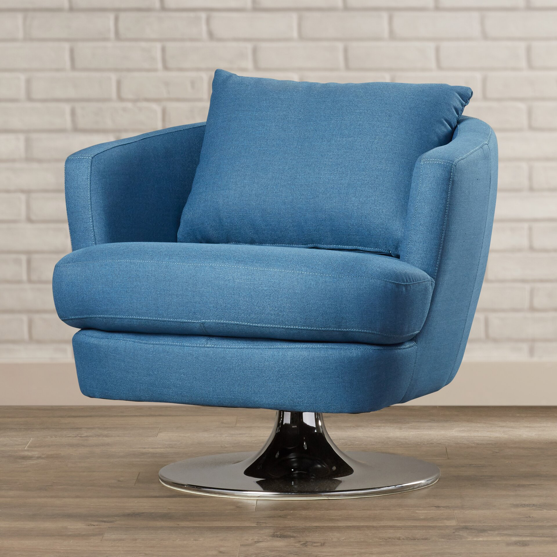 fabric swivel club chairs sitton fabric swivel club chair wayfair 15197 | Sitton Fabric Swivel Club Chair BRSD7967