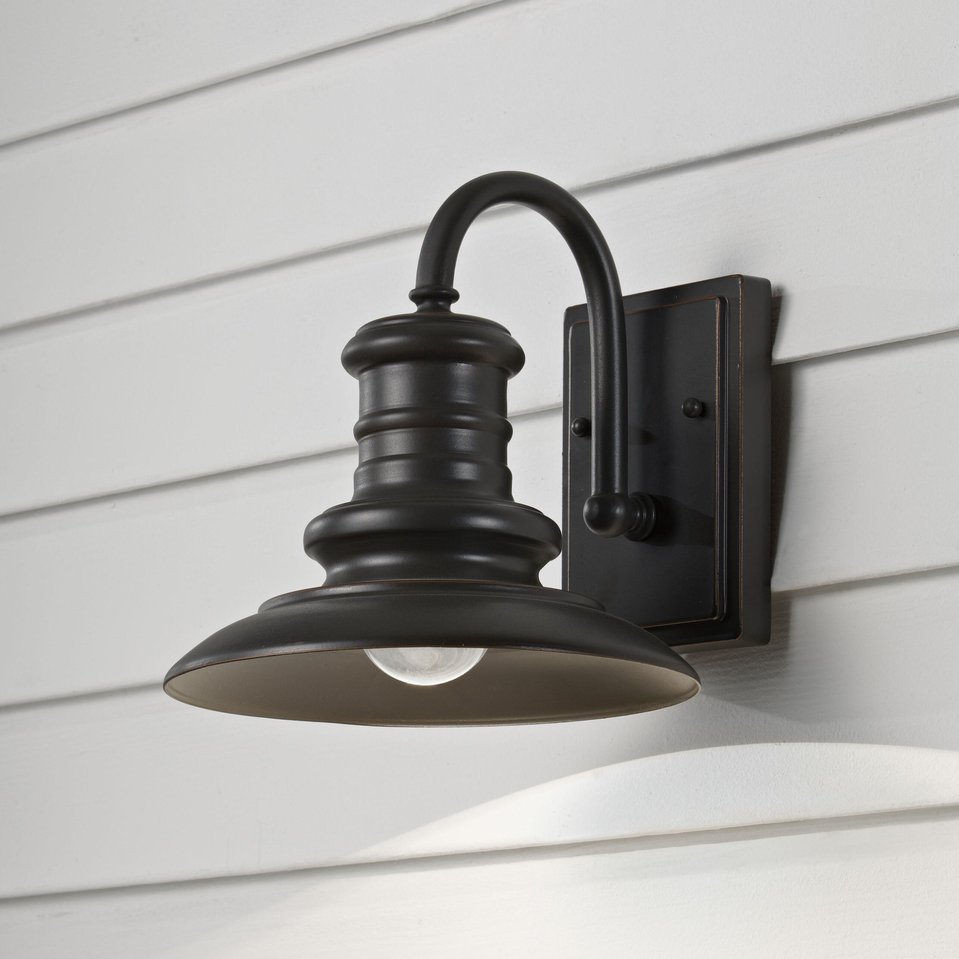 Brayden Studio Colunga 1 Light Outdoor Barn Light