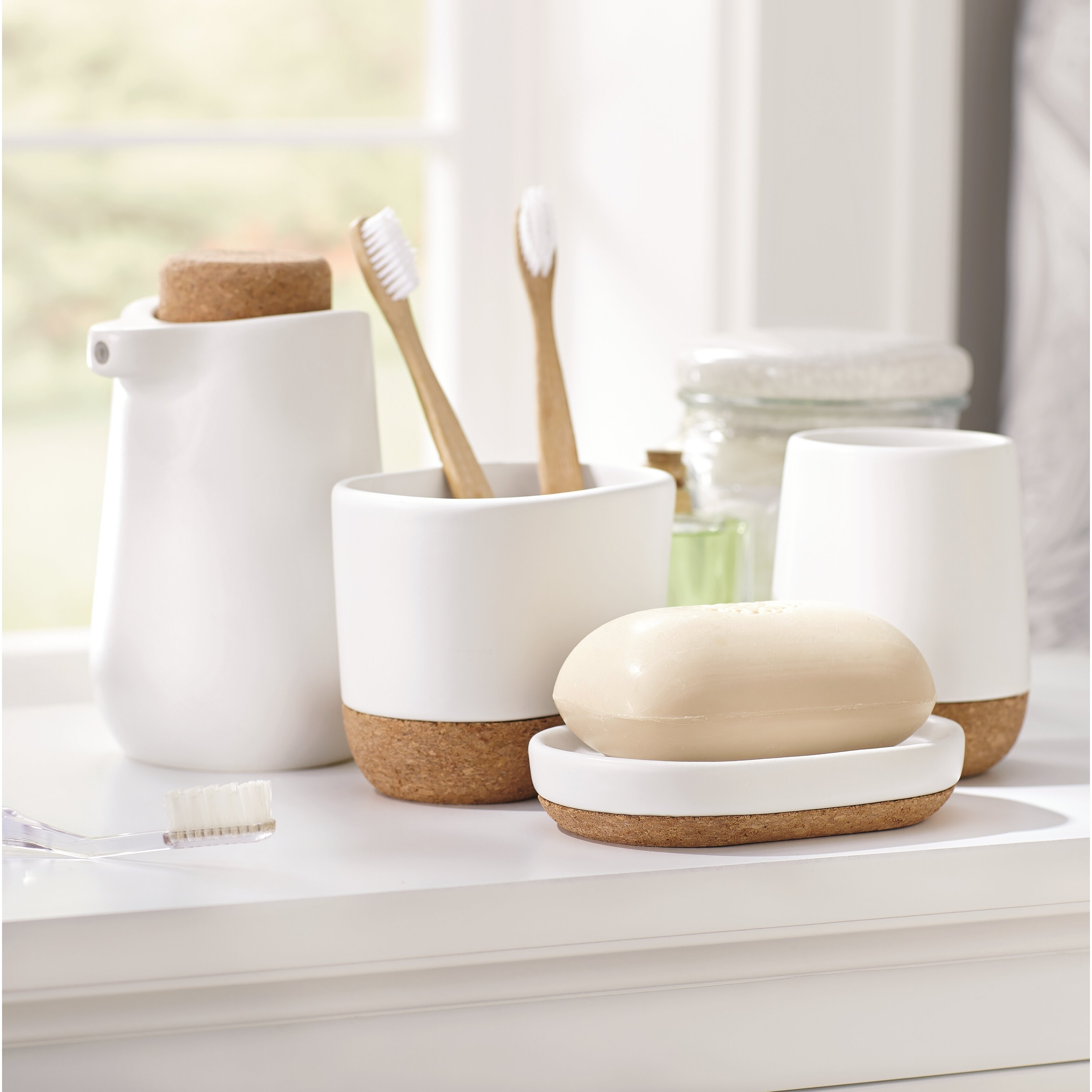 Bathroom soap dish