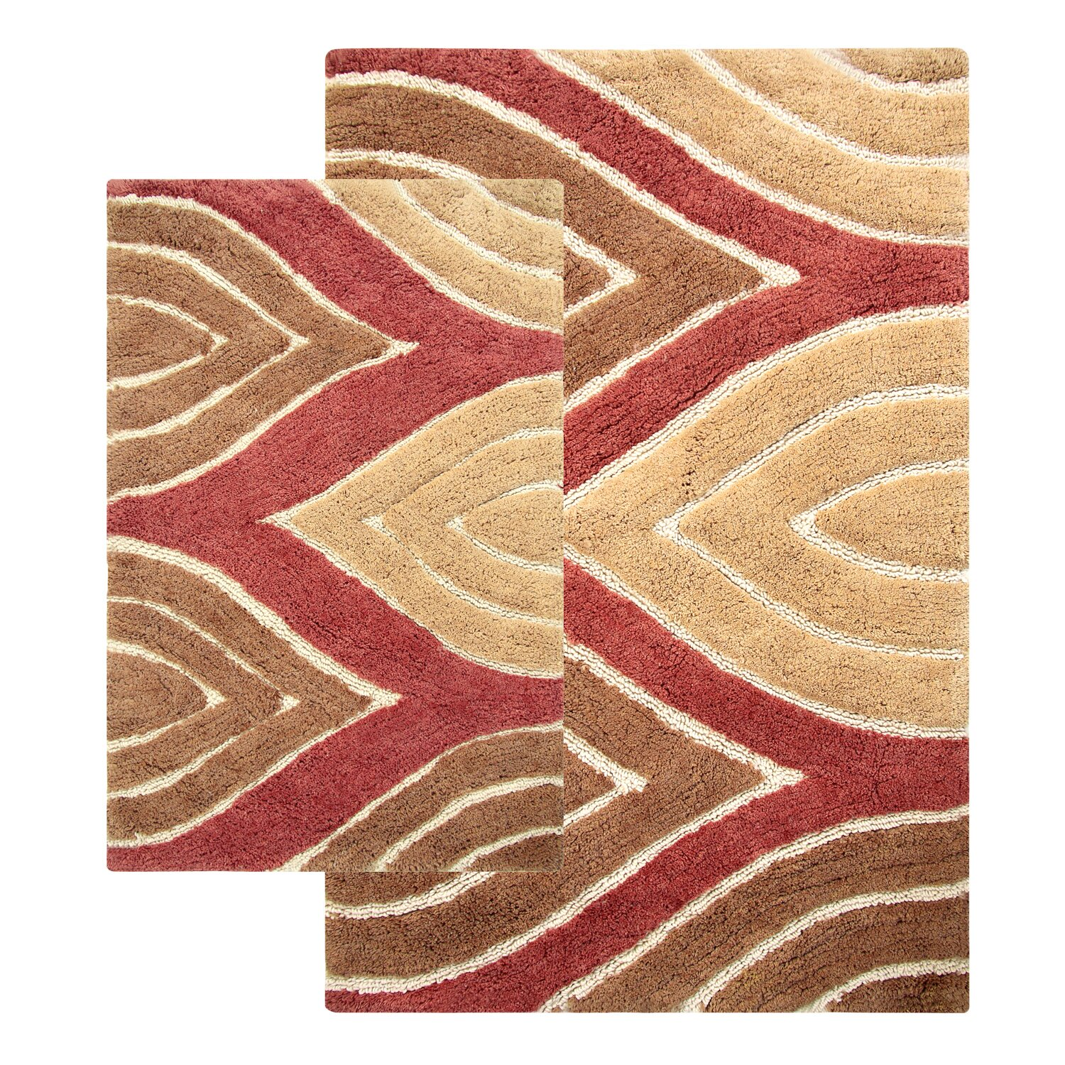 Model Set Of 2 Capri Bath Rugs  Clearance  TJMaxx