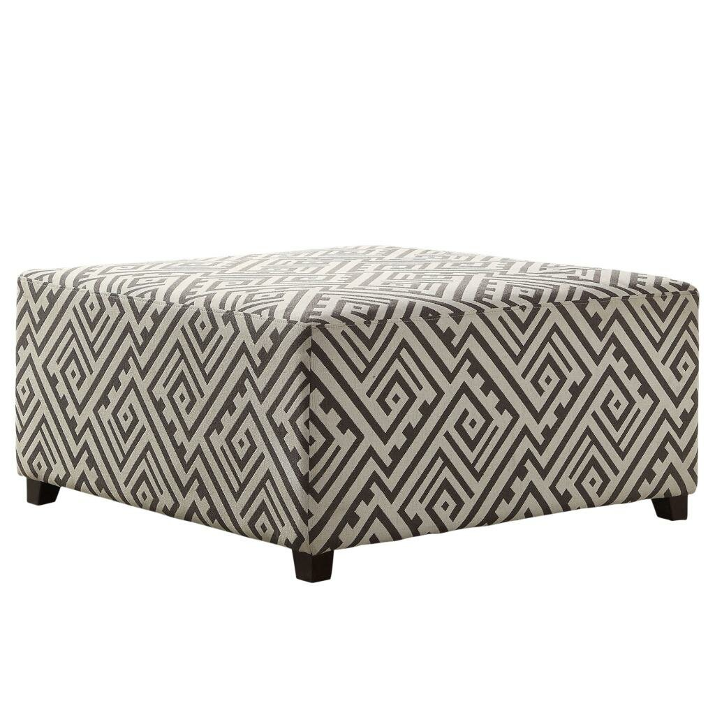 fabric cocktail ottoman nspire fabric cocktail ottoman amp reviews wayfair 15177 | Cocktail Ottoman 402 261
