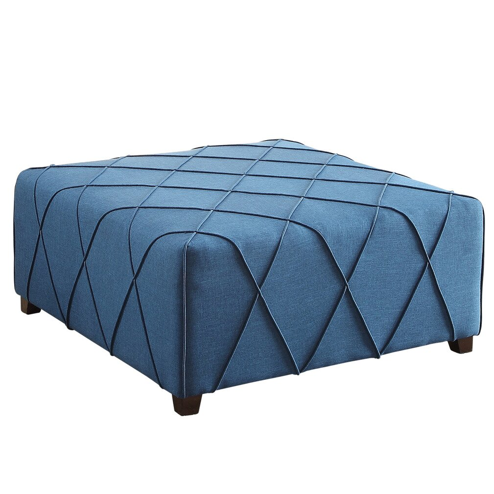 nspire cocktail ottoman with 4 matching pillows reviews wayfair. Black Bedroom Furniture Sets. Home Design Ideas