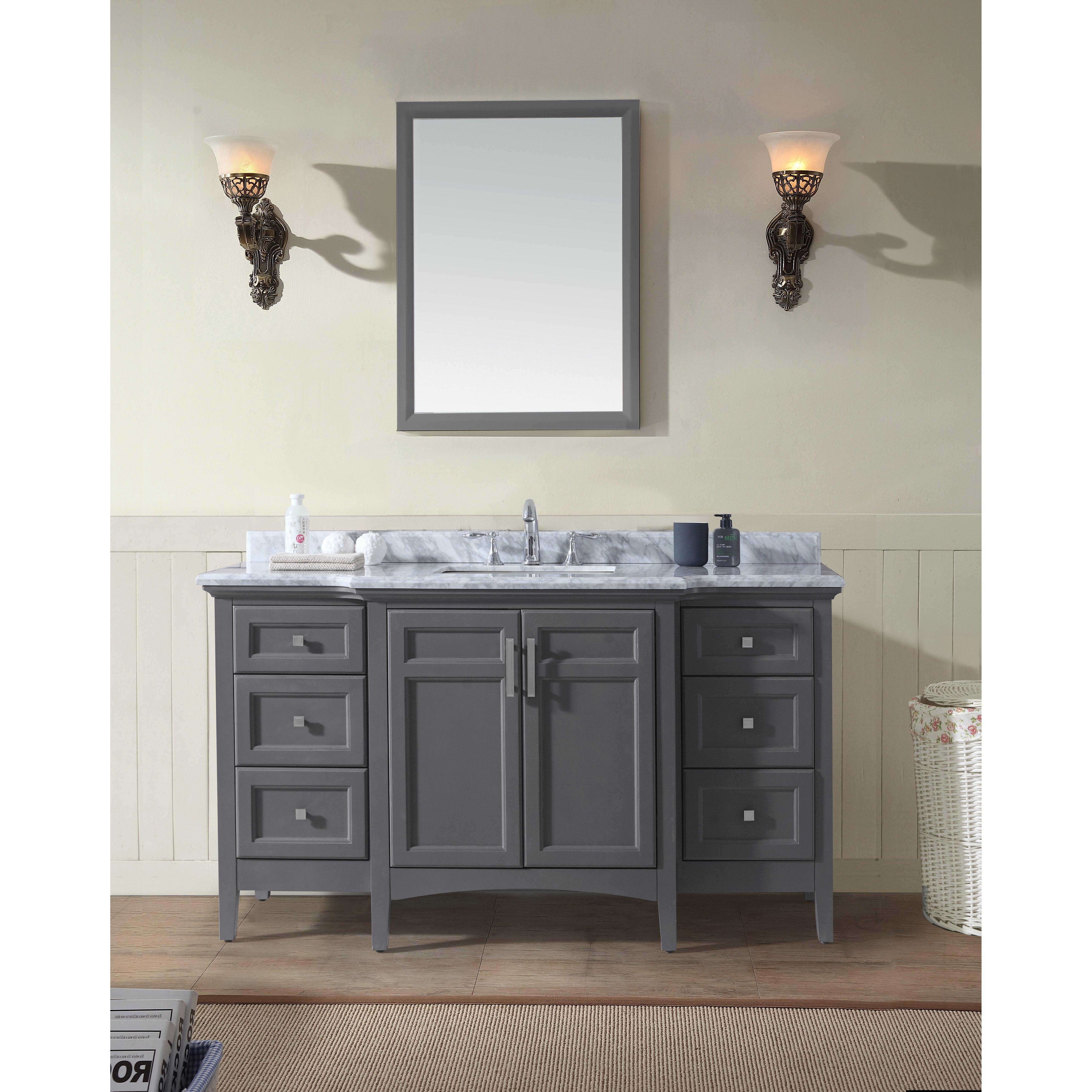 60 Single Bathroom Vanity