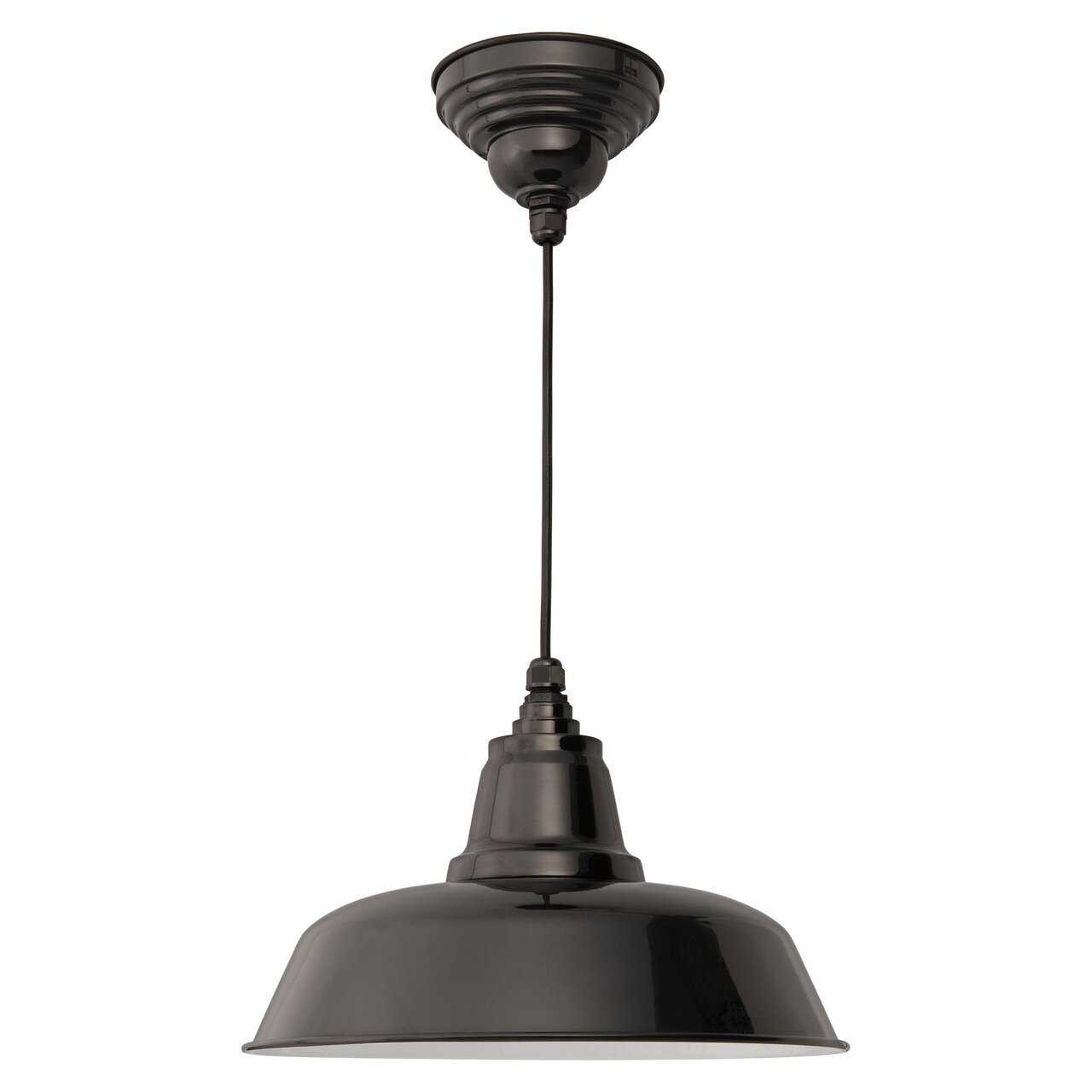 Goodyear 1 Light Outdoor Barn Light: Cocoweb Goodyear 1 Light Bowl Pendant & Reviews
