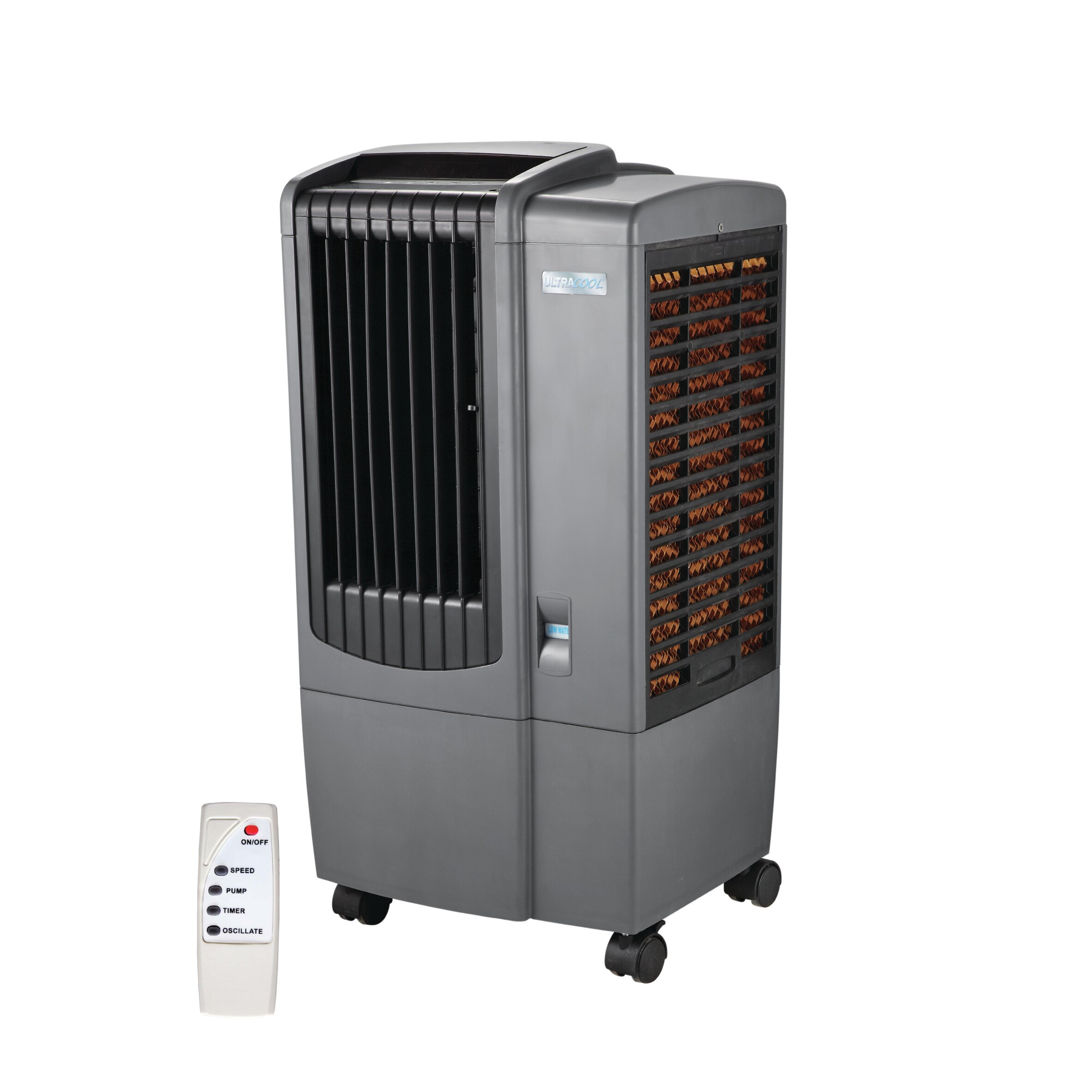 UltraCool Portable Evaporative Cooler with Remote & Reviews Wayfair  #6B3924