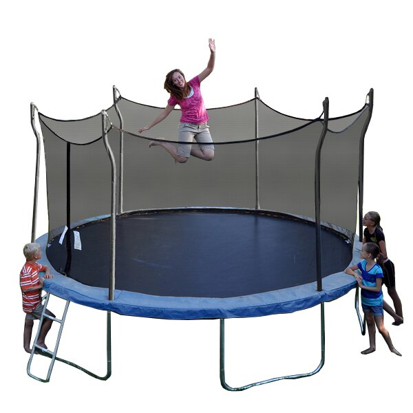 Propel Trampolines Kinetic 14' Trampoline And Enclosure