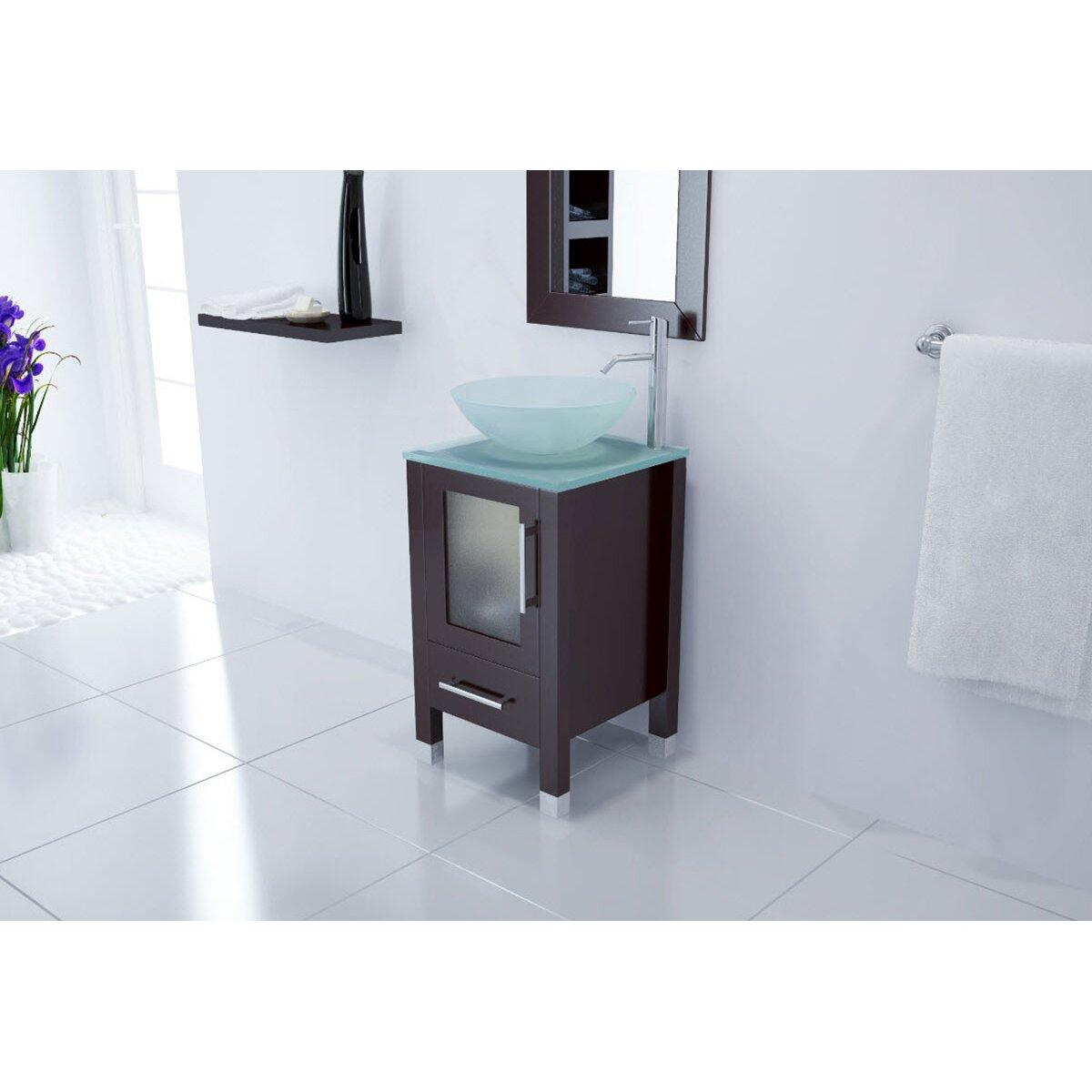 Jwh Living Soft Focus Single Bathroom Vanity Set Reviews Wayfair