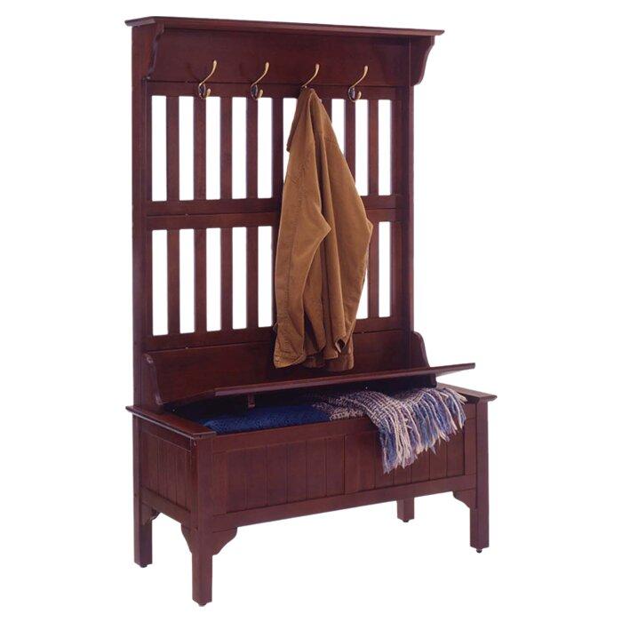 storage bench with coat rack ikea 1
