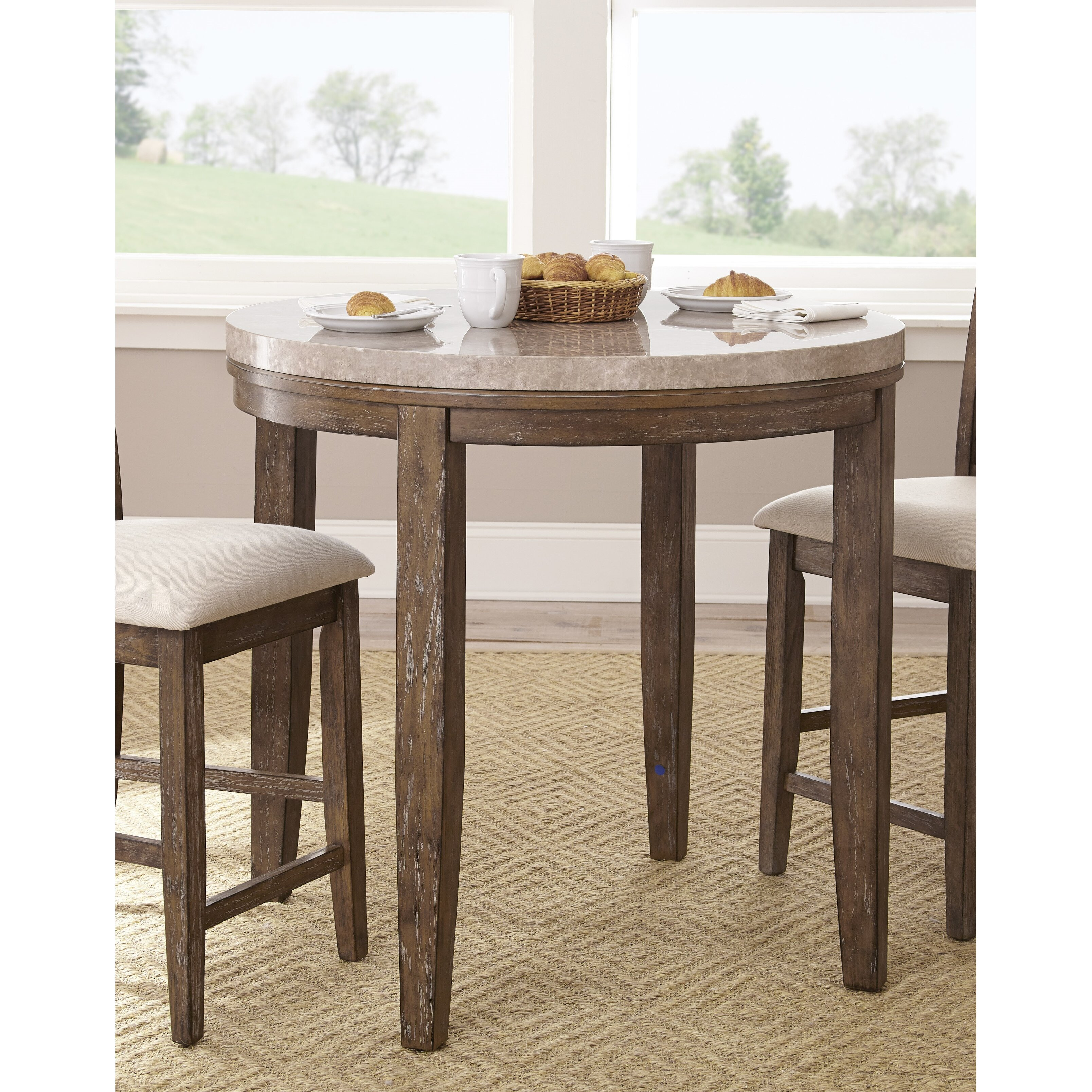 One Allium Way Lewisville Counter Height Dining Table