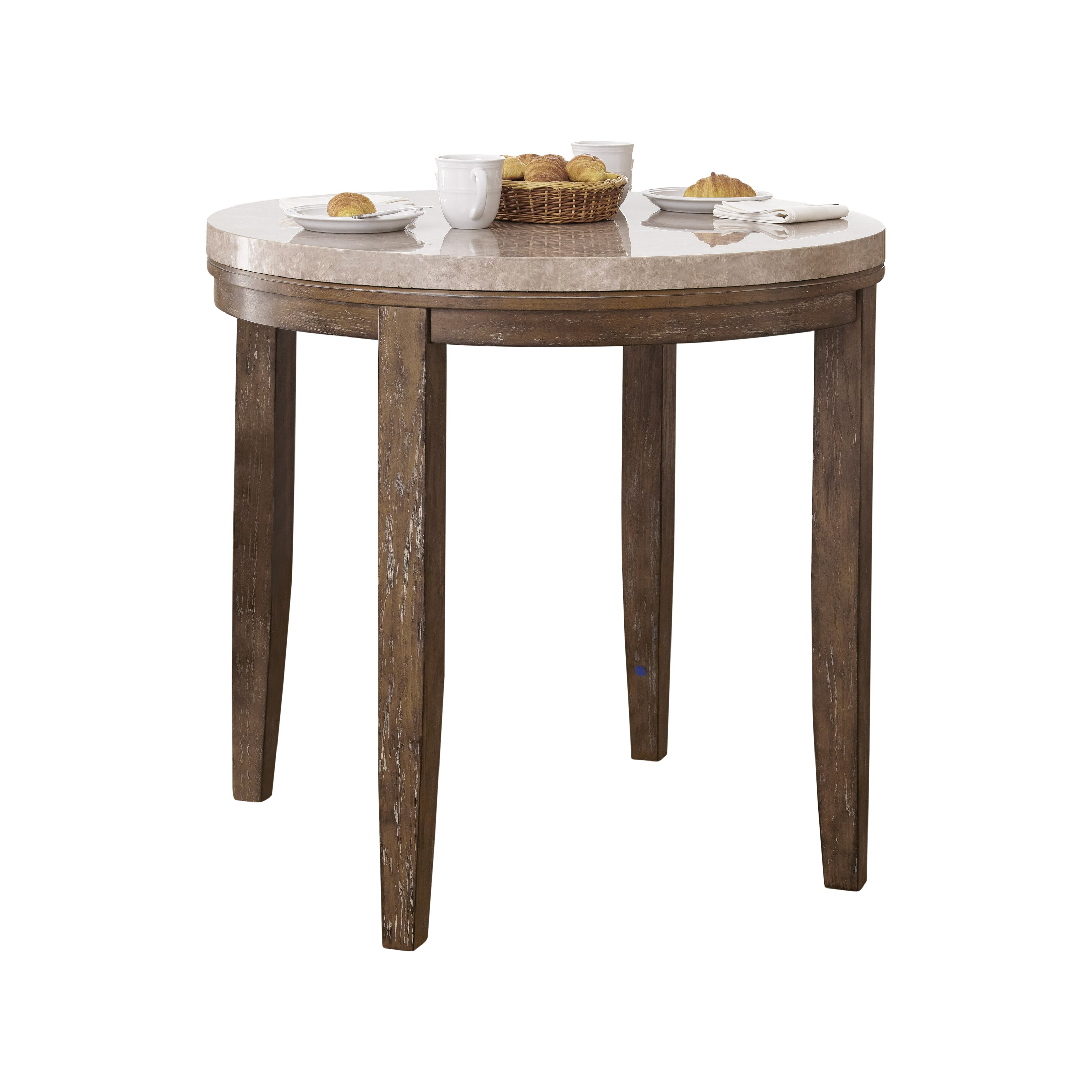 Allium Way Lewisville Counter Height Dining Table Reviews Wayfair