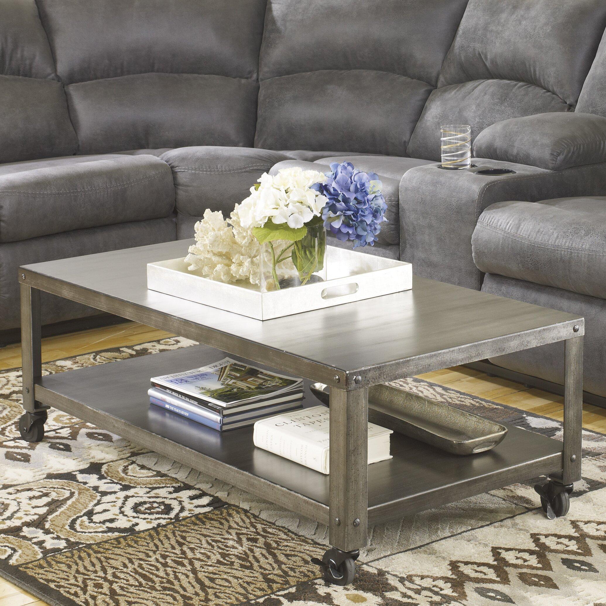 Romy Square Metal Coffee Table Am Pm: Trent Austin Design Seward Coffee Table & Reviews