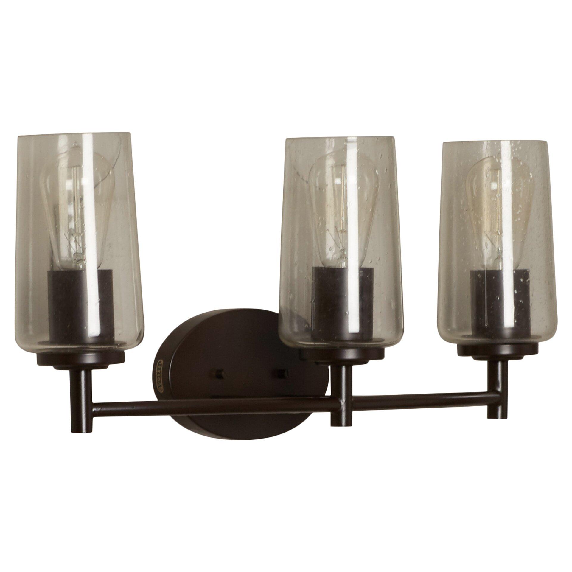 Loring 3 Light Bath Vanity Light by Trent Austin Design