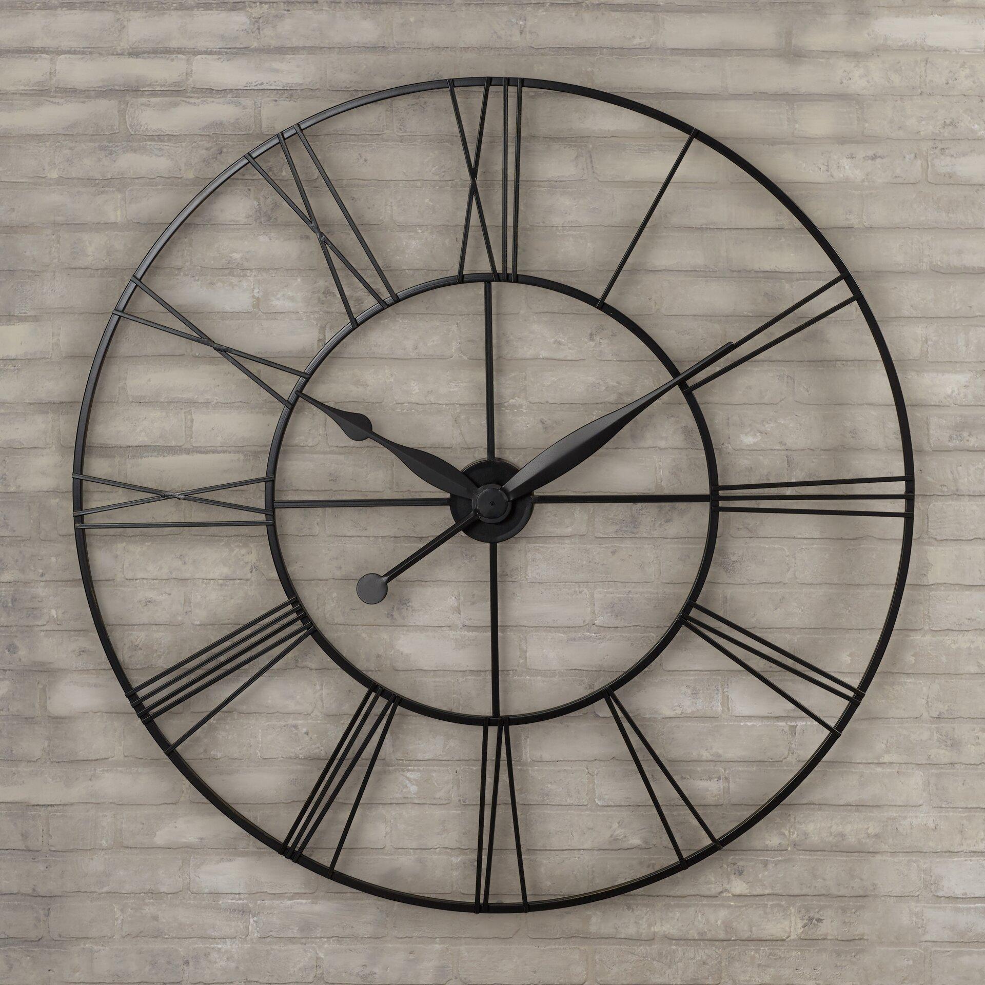 Trent Austin Design Grafton Oversized 45 Quot Xxl Wall Clock