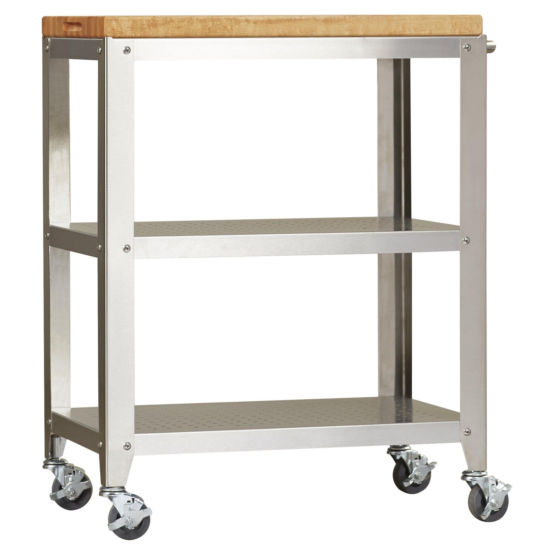 Trent Austin Design Kitchen Cart with Butcher Block Top & Reviews Wayfair