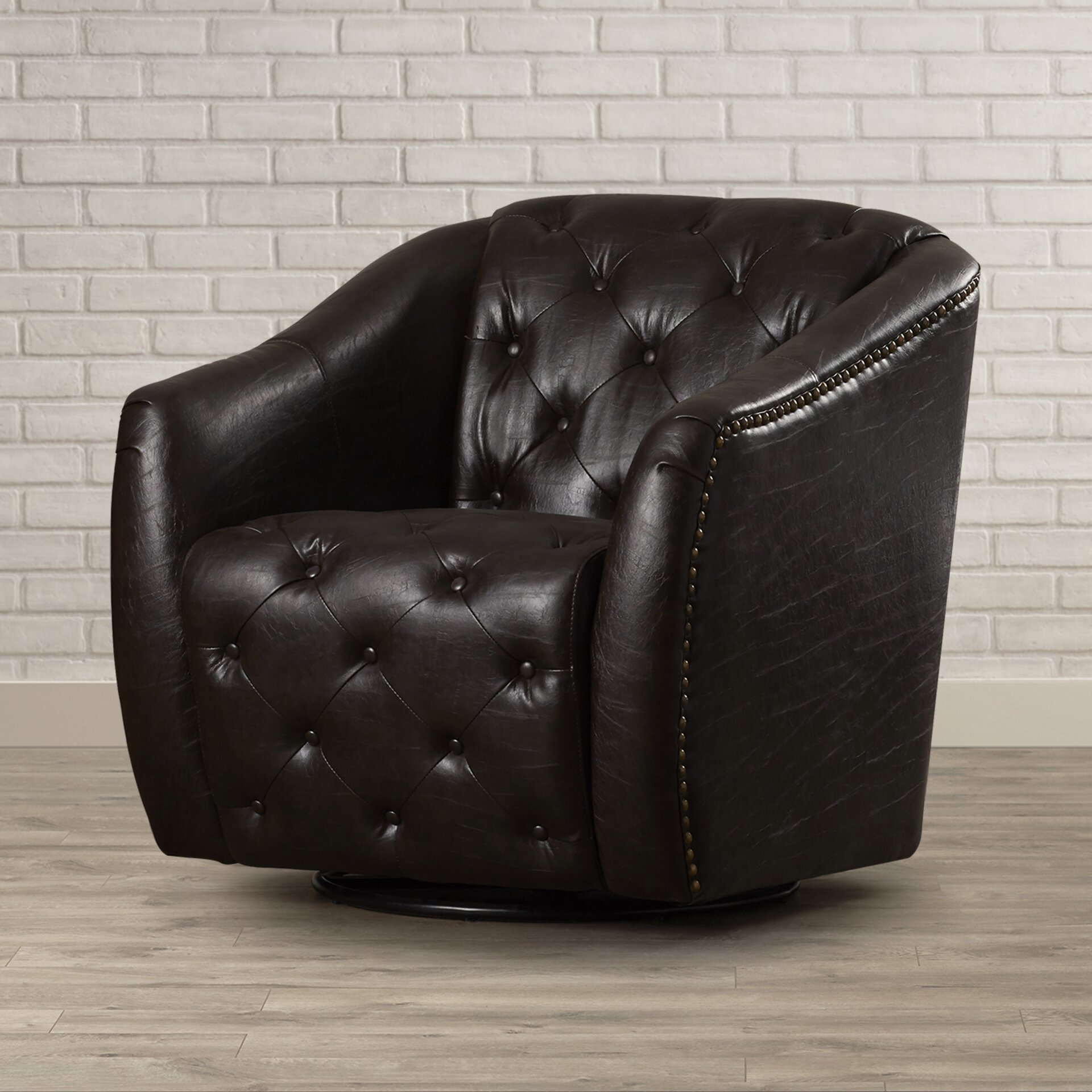 Trent Austin Design Apple Valley Swivel Barrel Chair