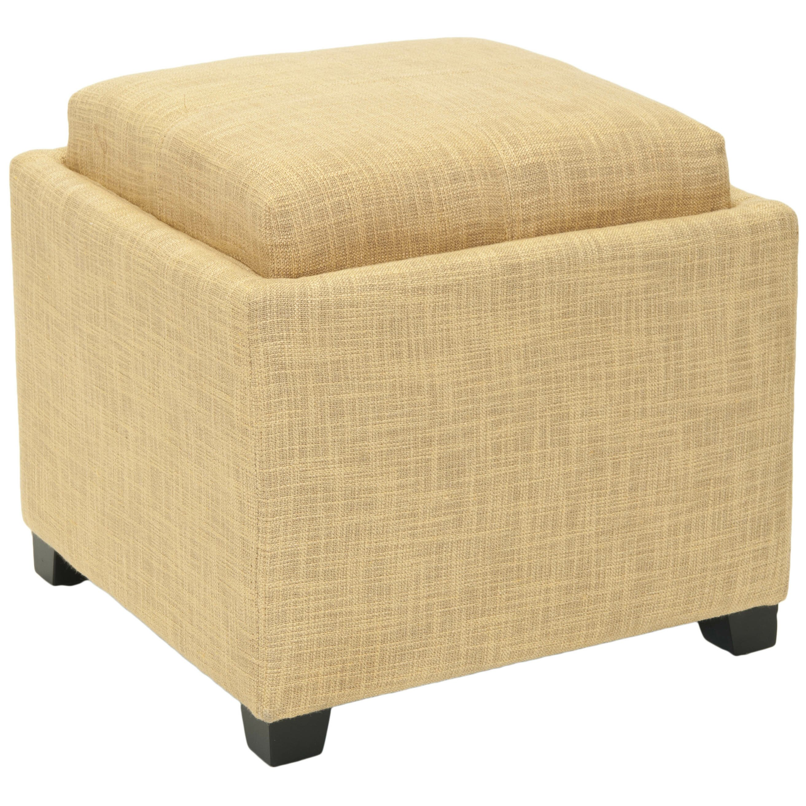 House Of Hampton Rolla Single Tray Storage Ottoman